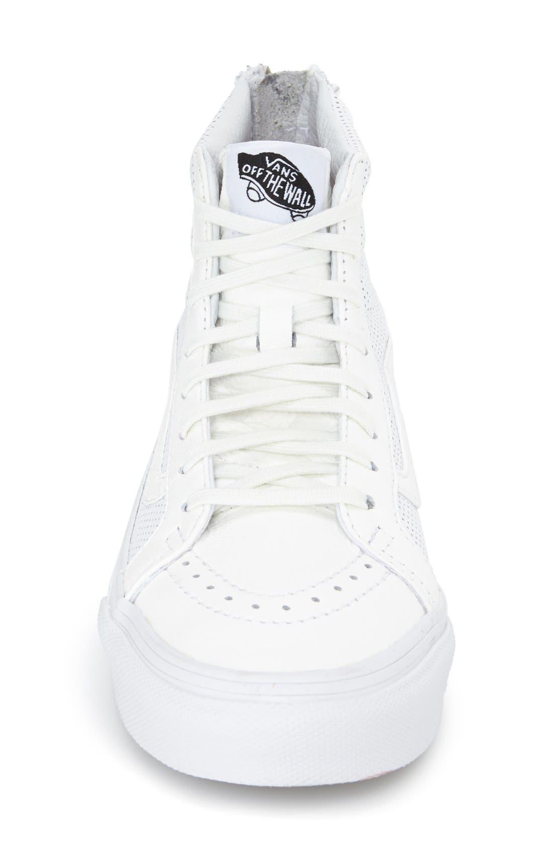 'Sk8-Hi Slim' Perforated Sneaker,                             Alternate thumbnail 10, color,