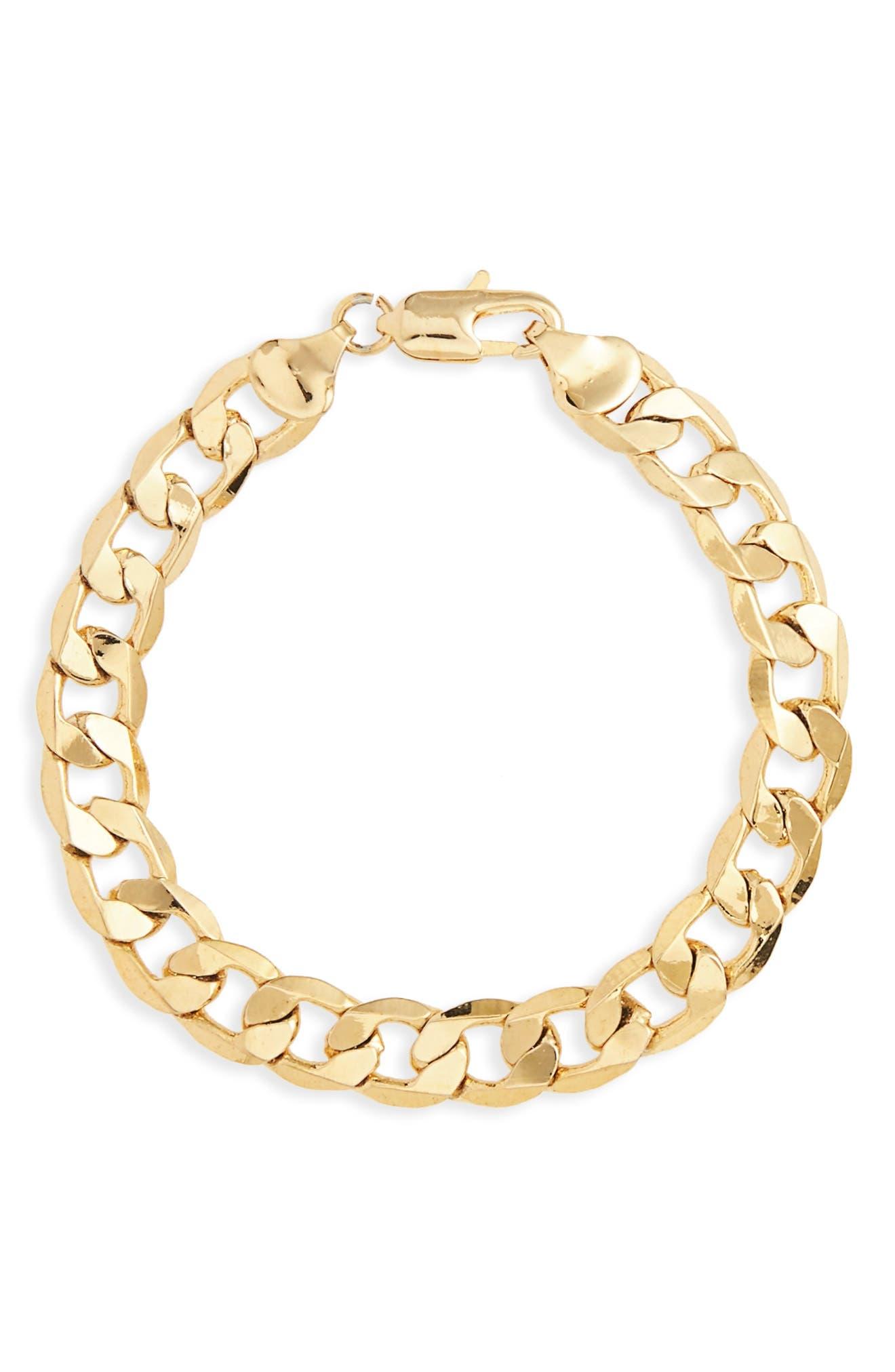 Chain Link Bracelet,                             Main thumbnail 1, color,                             710