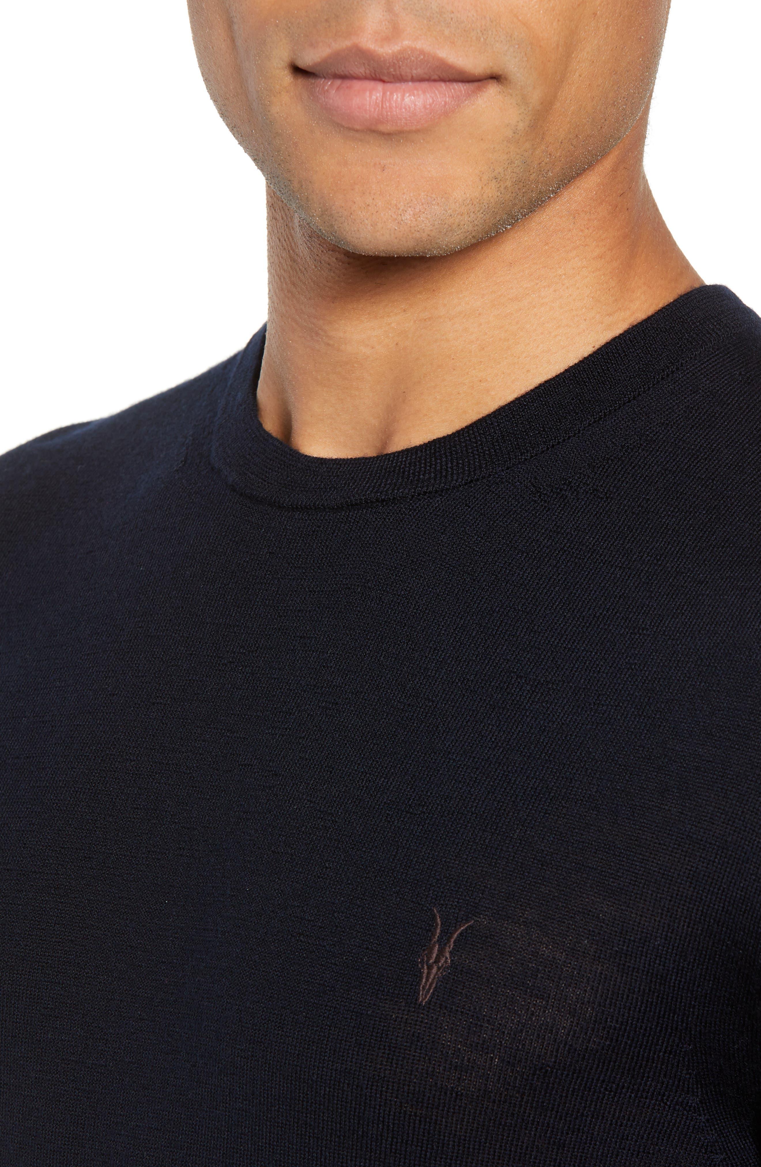 Mode Slim Fit Merino Wool Sweater,                             Alternate thumbnail 27, color,
