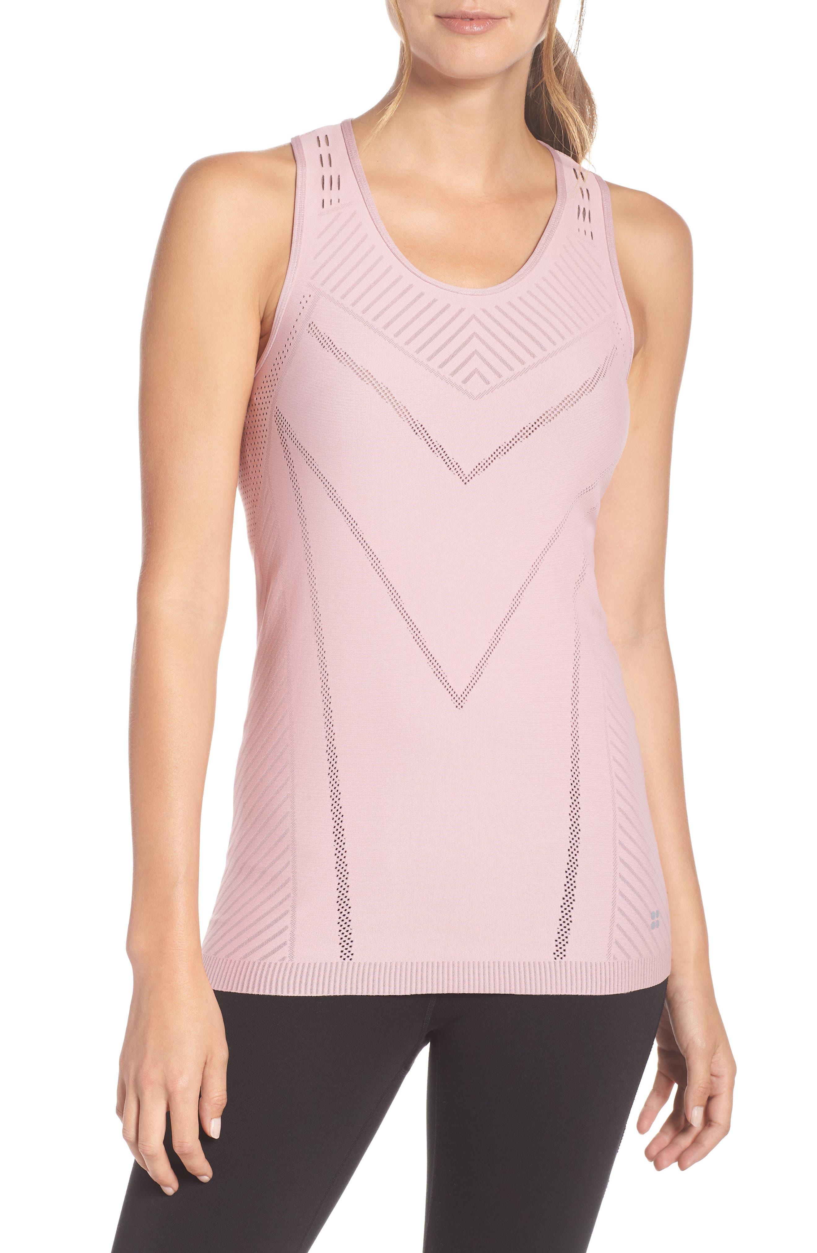 Luxe Yoga Vest,                             Main thumbnail 1, color,                             650