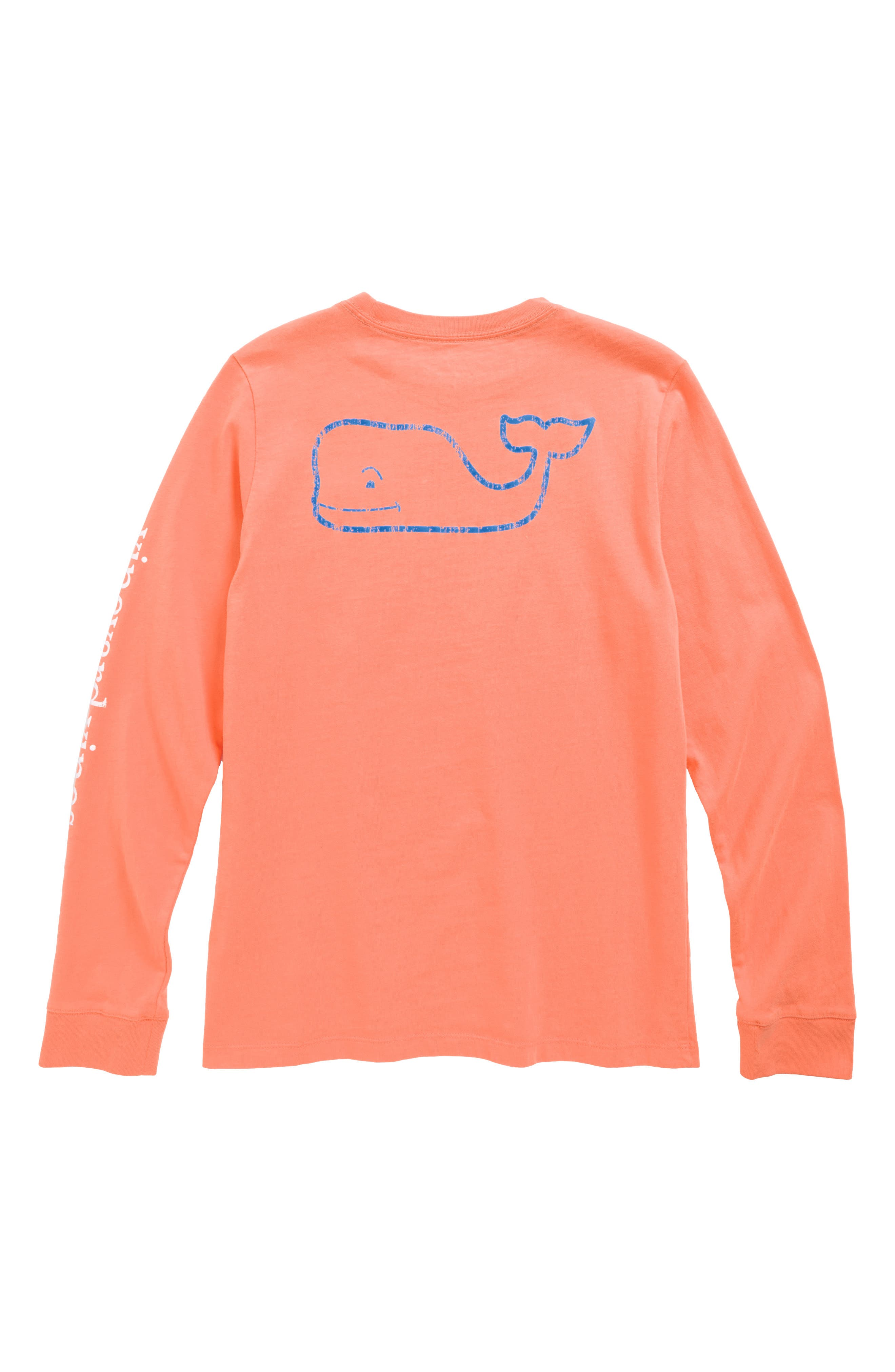 Vintage Whale Long Sleeve Pocket T-Shirt,                             Alternate thumbnail 12, color,