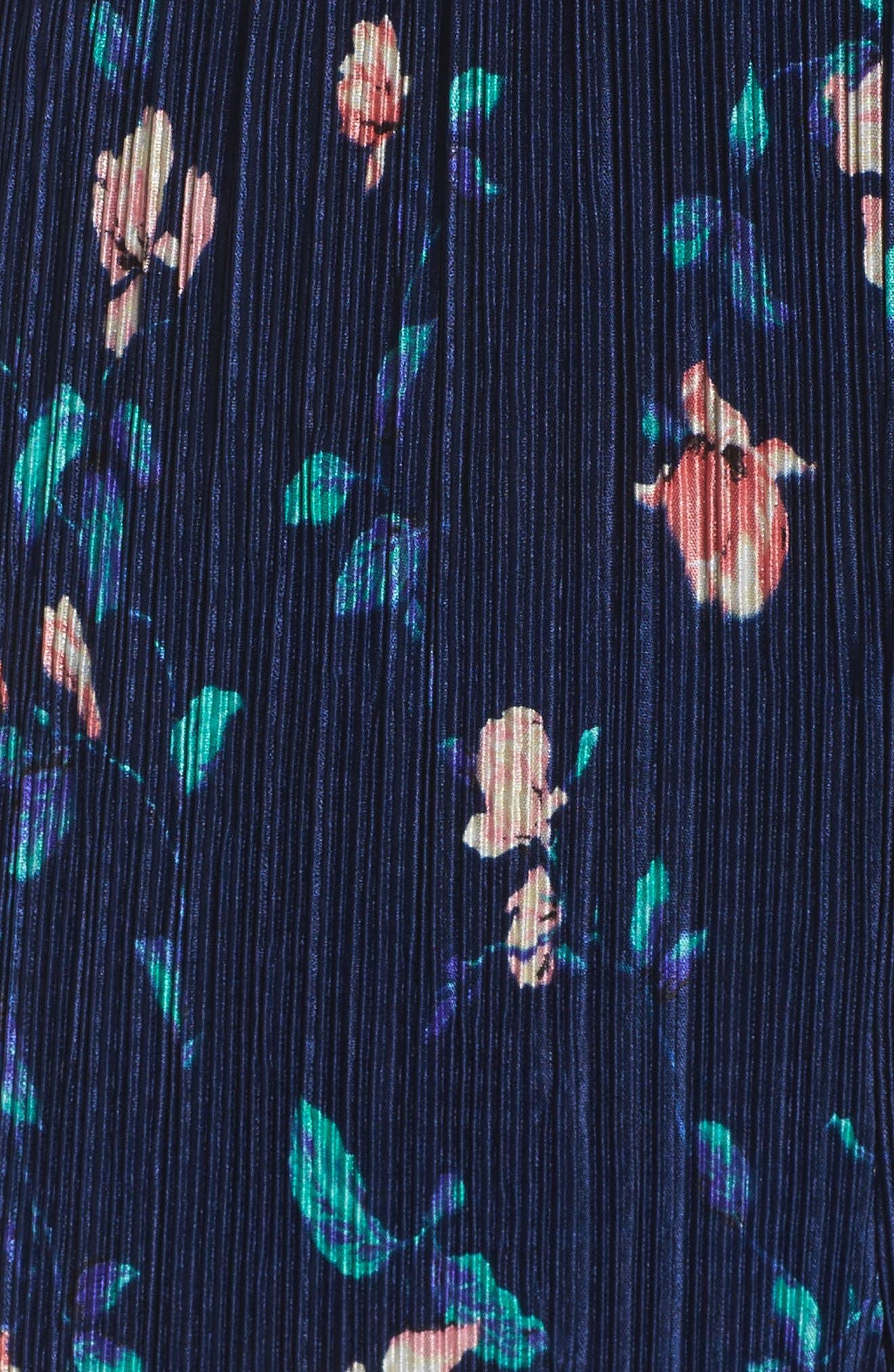 Strapless Culotte Jumpsuit,                             Alternate thumbnail 5, color,                             400