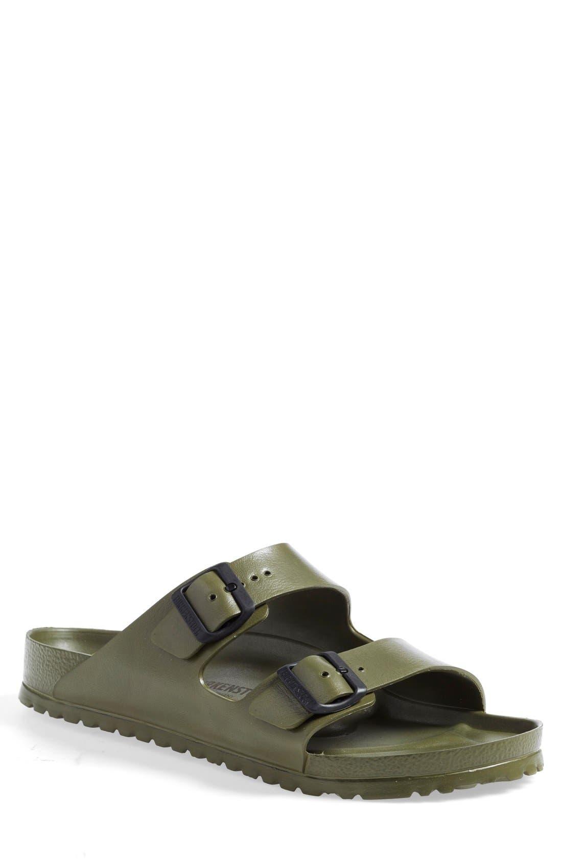 'Essentials - Arizona EVA' Waterproof Slide Sandal,                             Main thumbnail 1, color,                             GREEN
