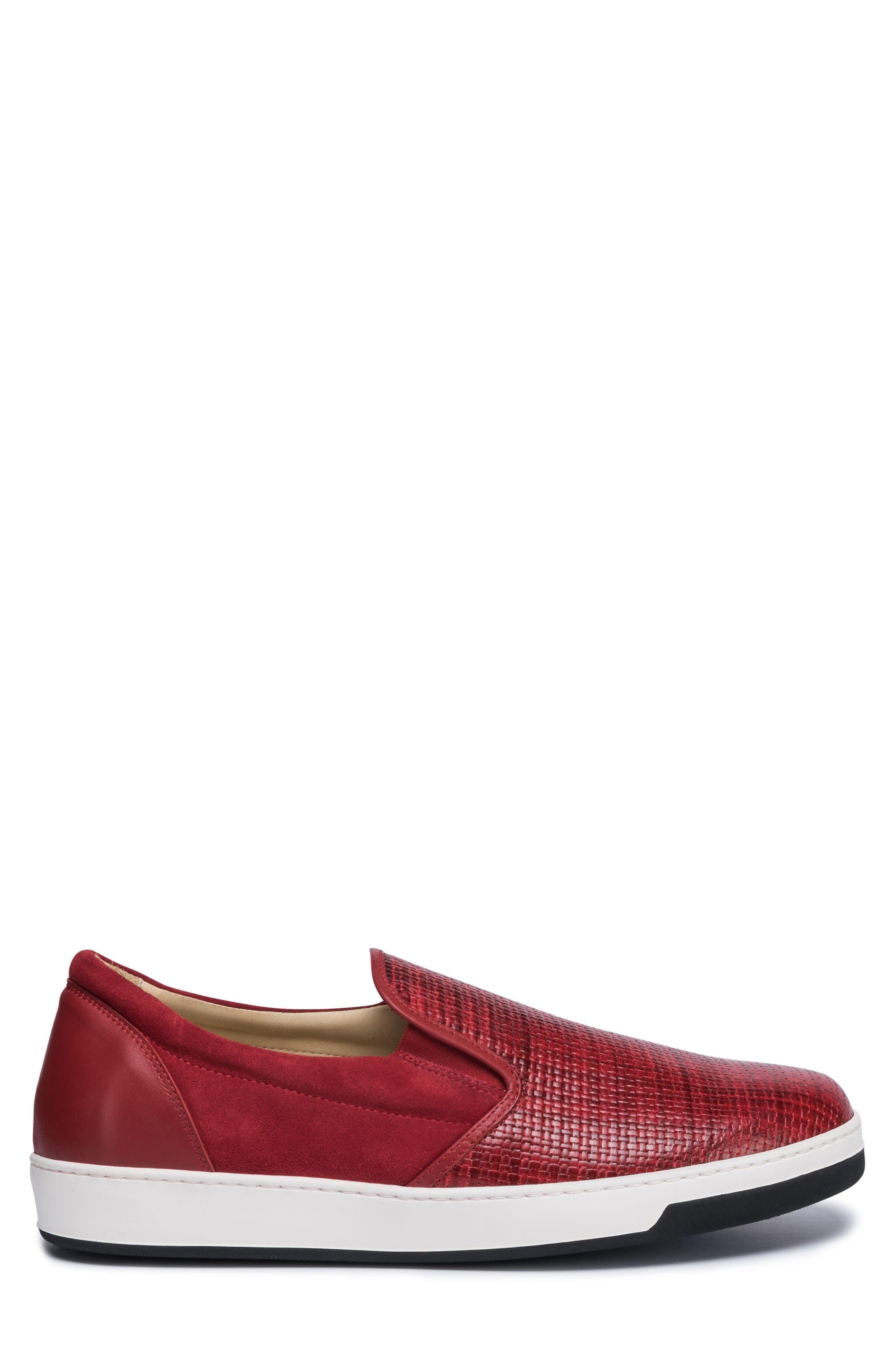 Cinque Terre Woven Slip-On Sneaker,                             Alternate thumbnail 9, color,