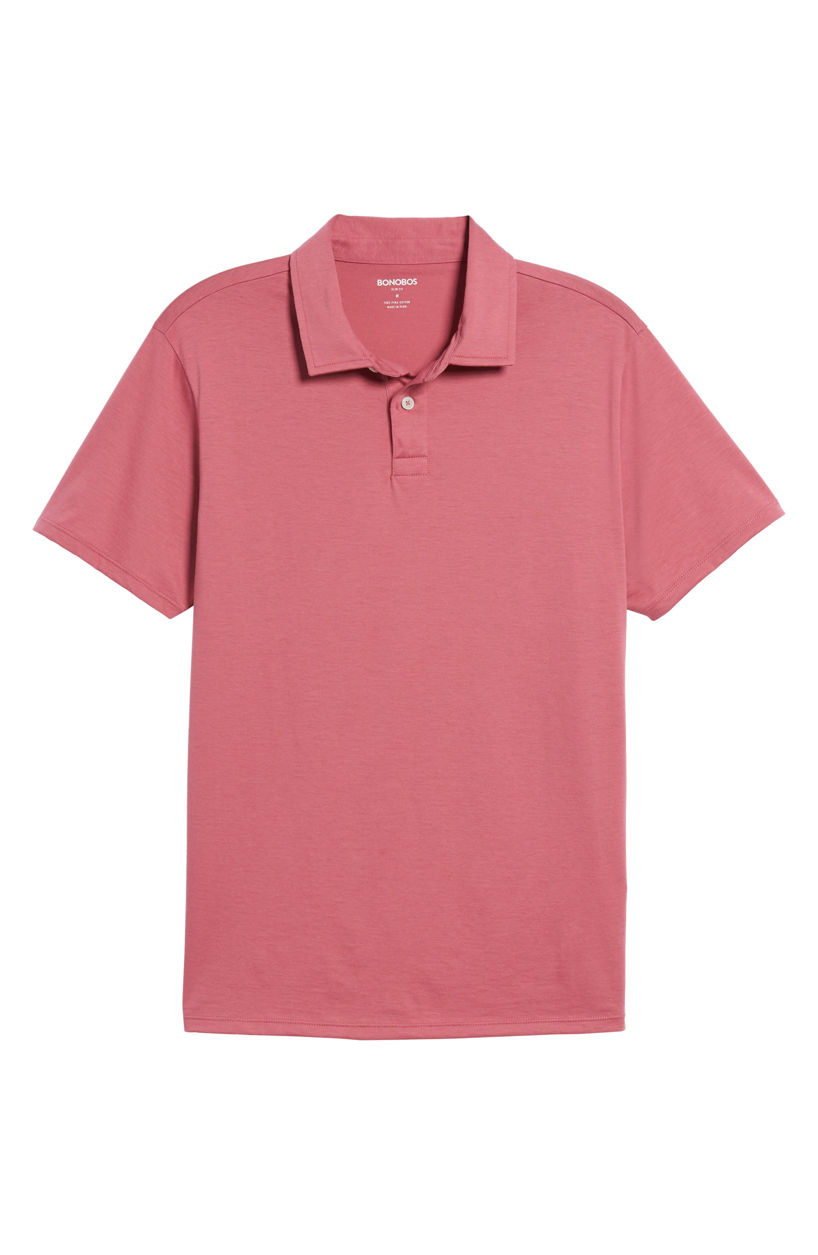Refined Jersey Polo,                             Alternate thumbnail 48, color,