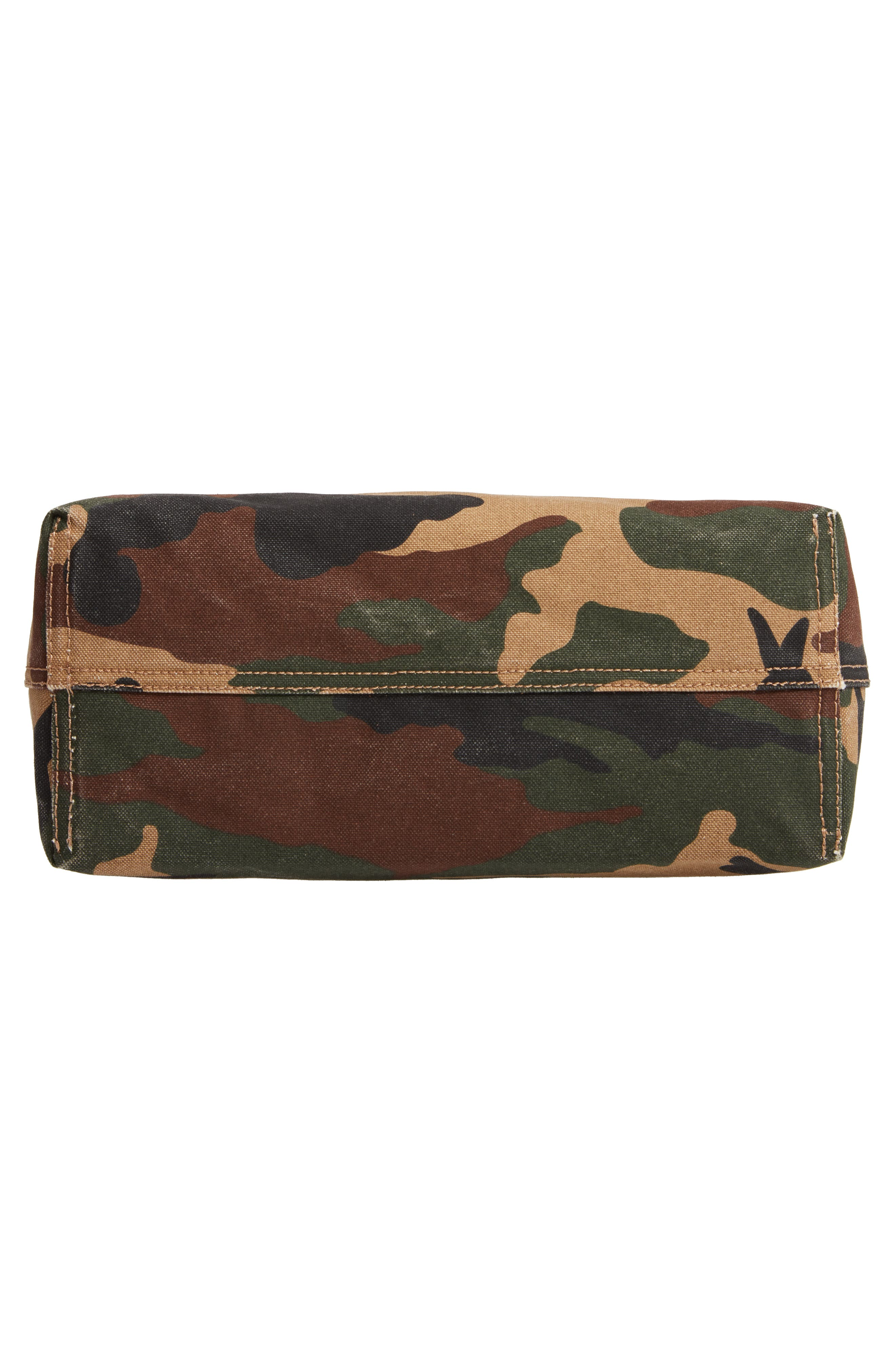 The Canvas Transport Tote in Cottontail Camo,                             Alternate thumbnail 6, color,