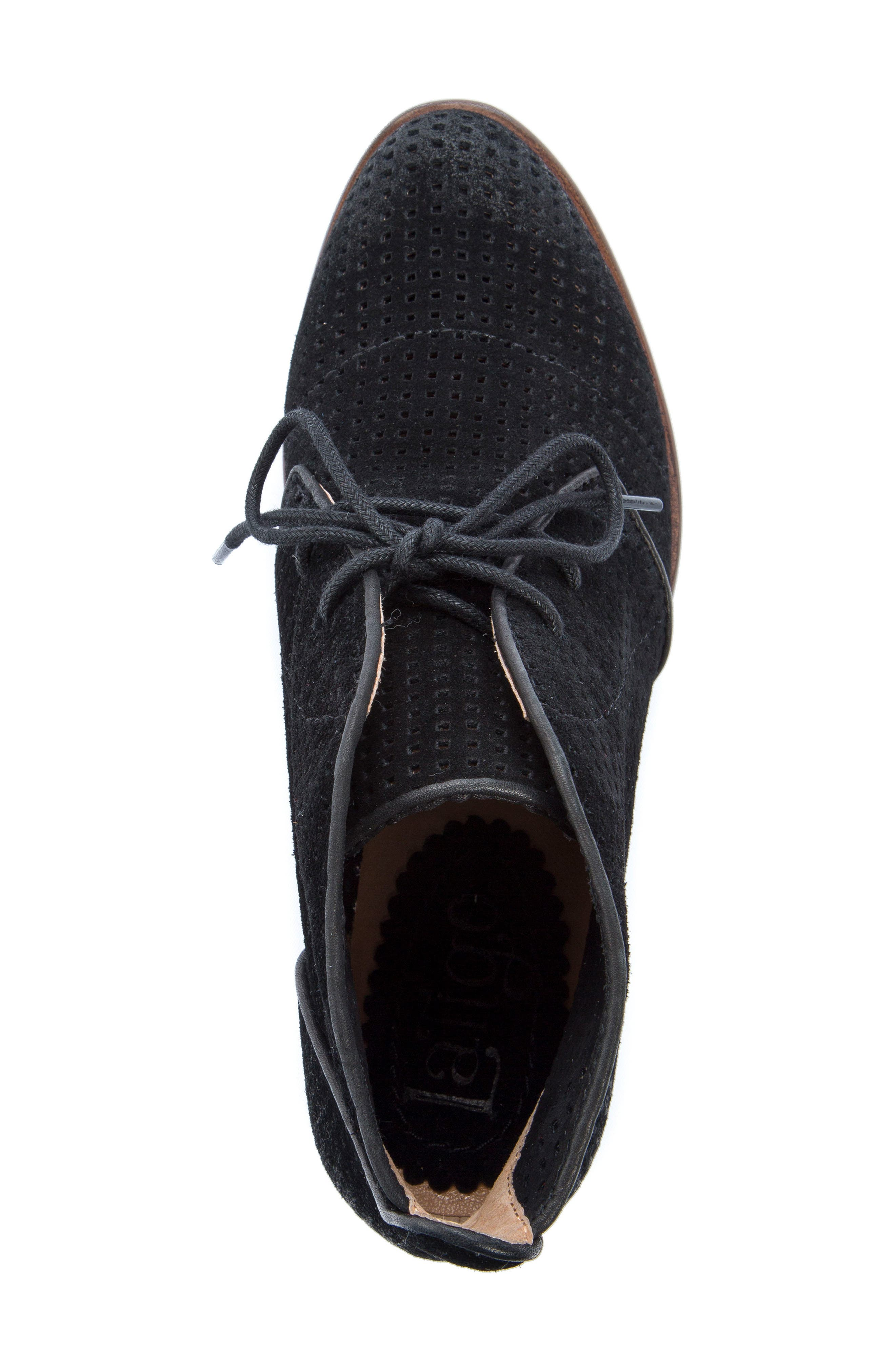 Isaac Lace-Up Bootie,                             Alternate thumbnail 5, color,                             001