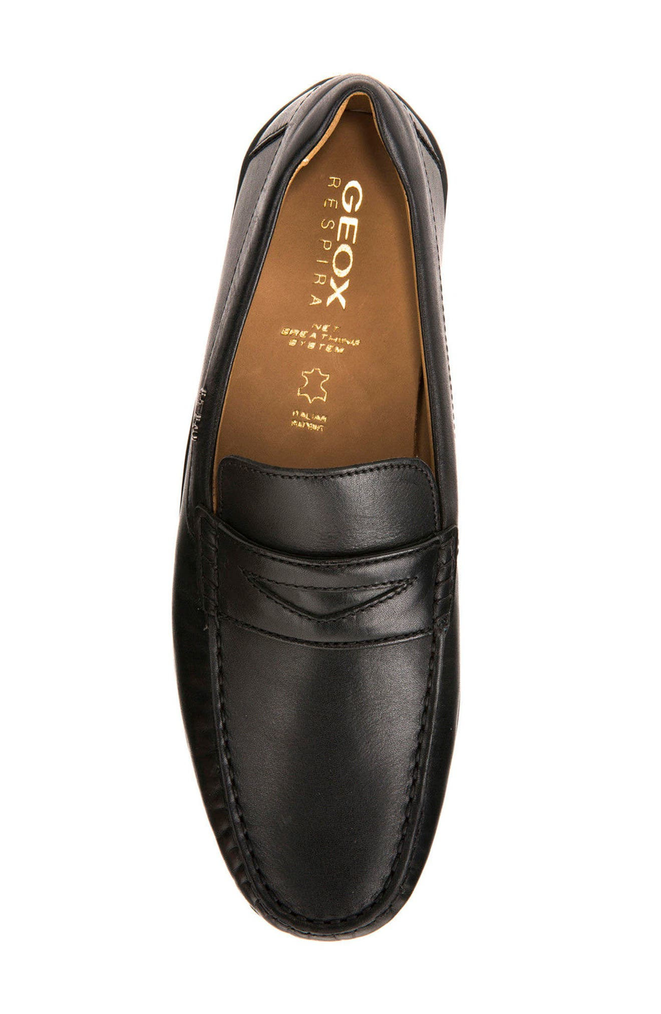 Xense Penny Loafer,                             Alternate thumbnail 5, color,                             001
