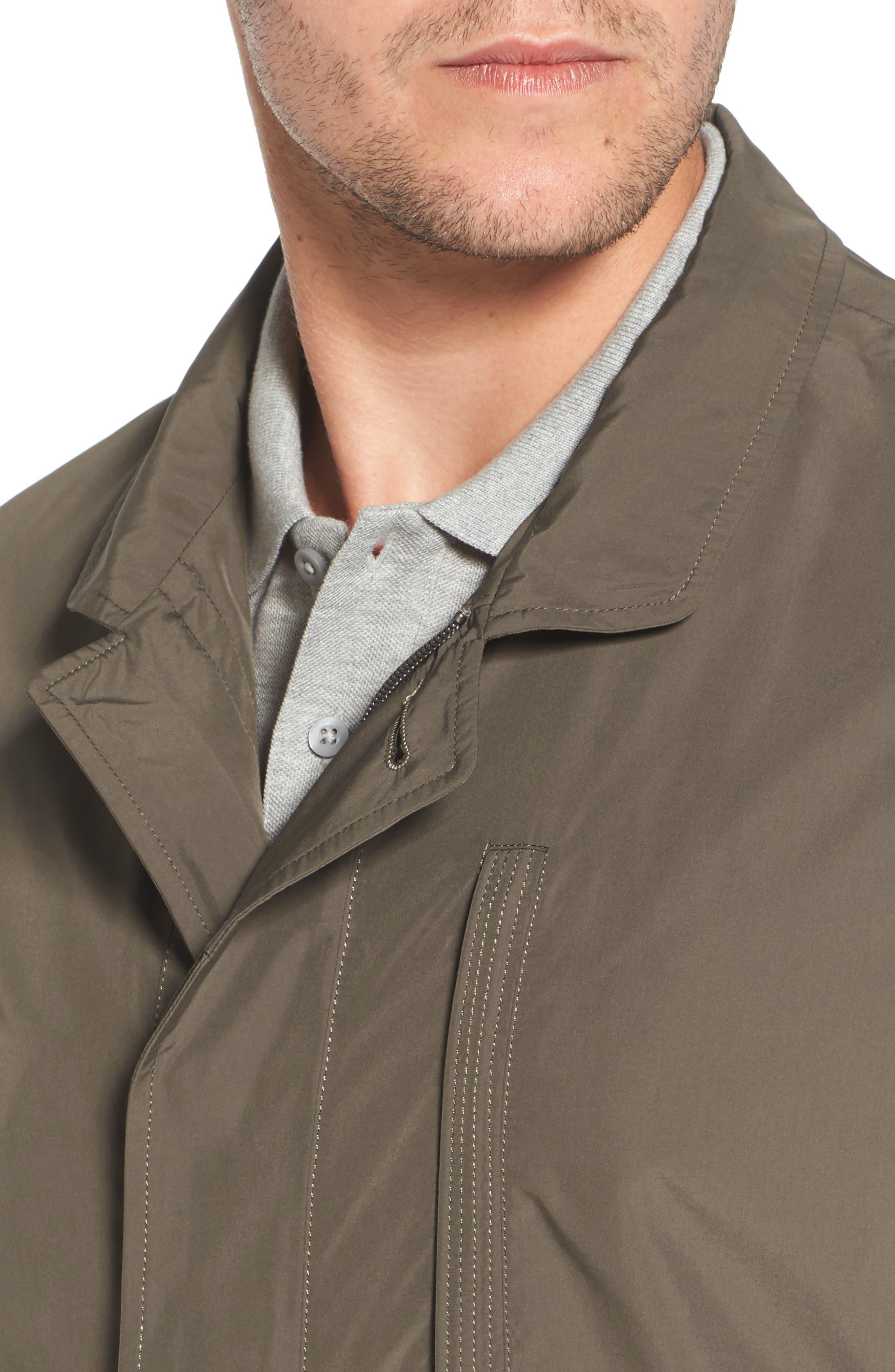 Packable Rain Coat,                             Alternate thumbnail 4, color,                             JAVA