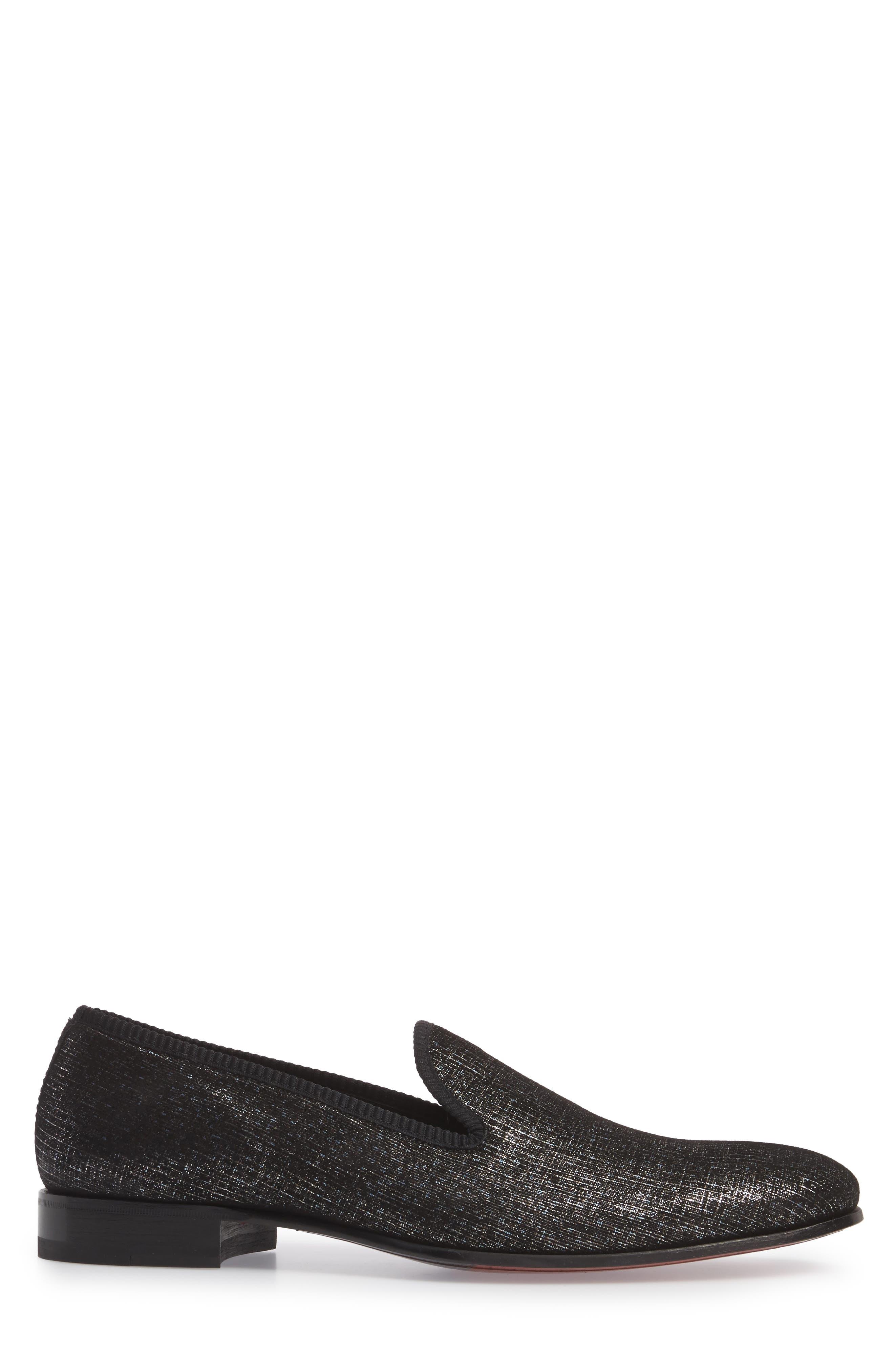 Belona Venetian Loafer,                             Alternate thumbnail 3, color,                             GREY SUEDE