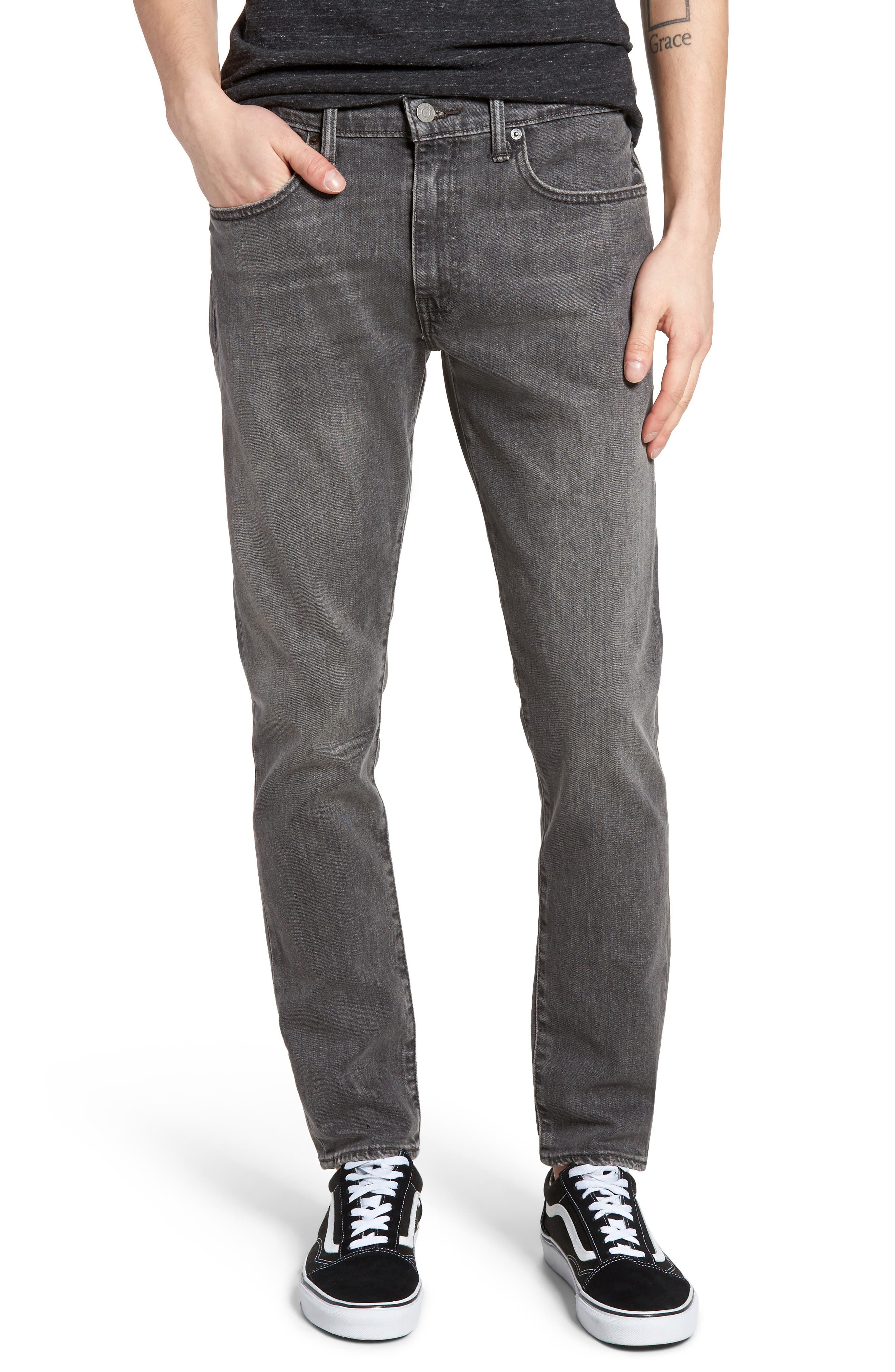 512<sup>™</sup> Slouchy Skinny Fit Jeans,                             Main thumbnail 1, color,                             001