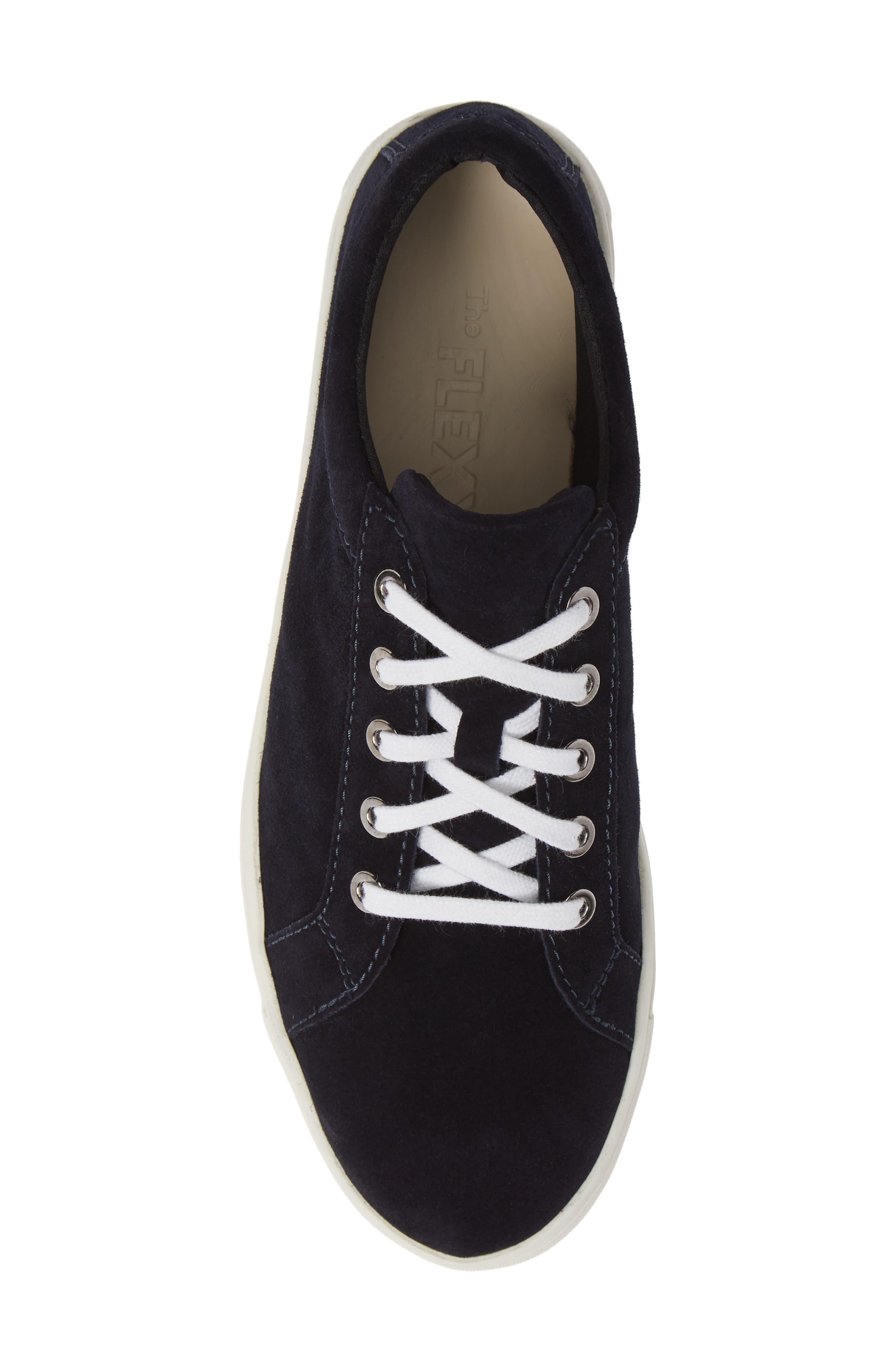 Sneak Away Sneaker,                             Alternate thumbnail 5, color,                             BLUE SUEDE