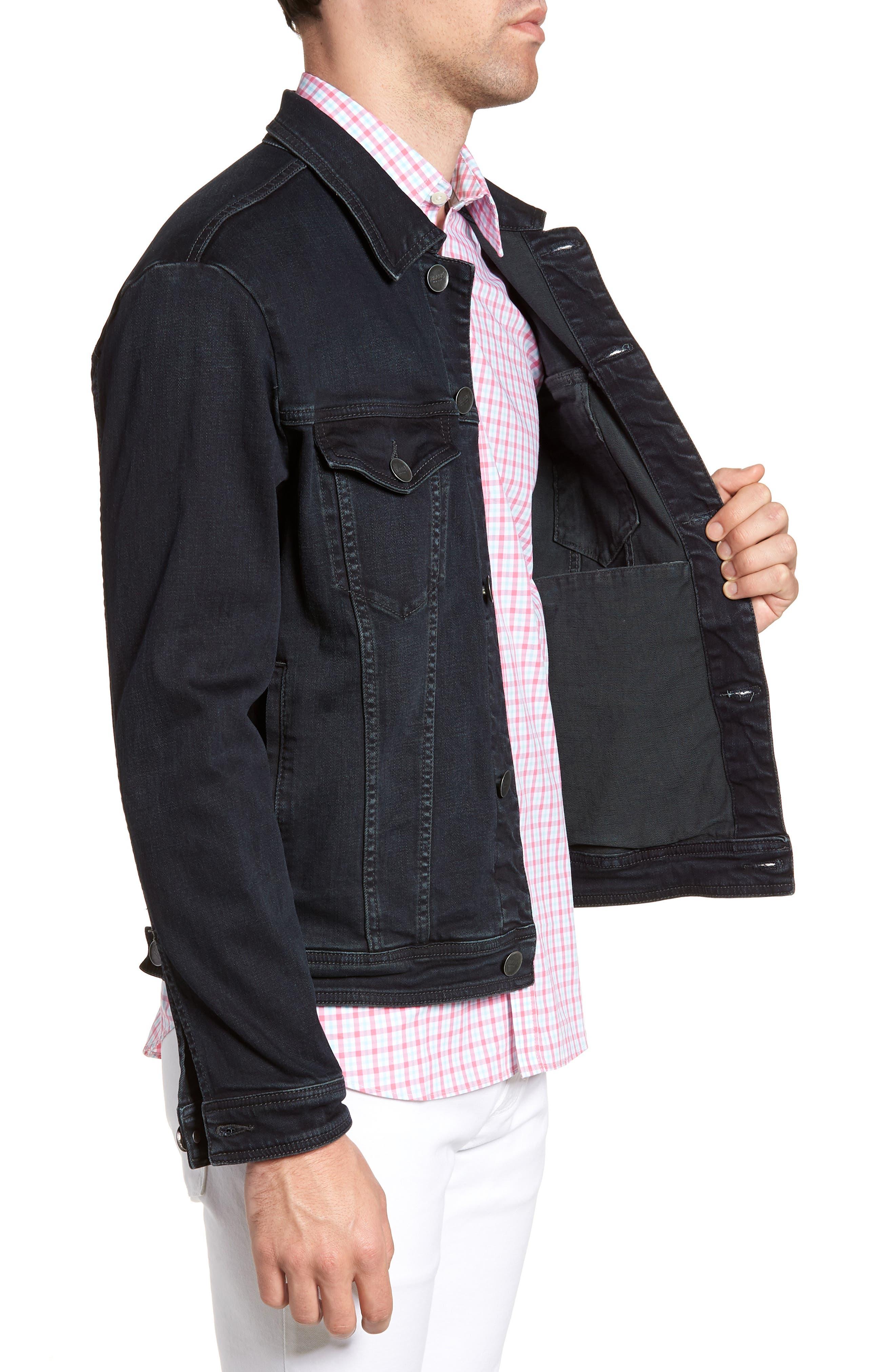 Denim Jacket,                             Alternate thumbnail 3, color,                             409