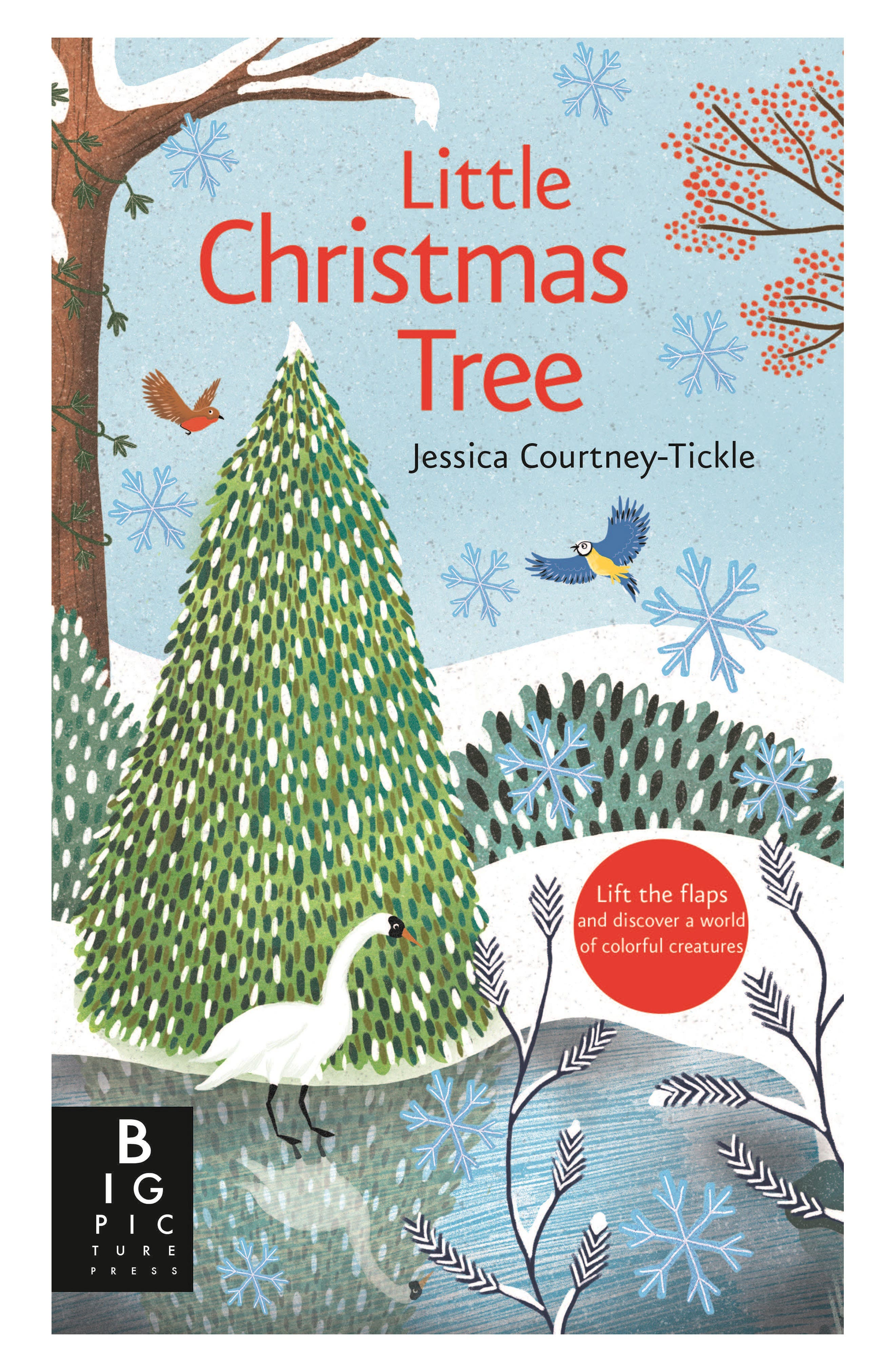 'Little Christmas Tree' Book,                             Main thumbnail 1, color,                             PASTEL/ LIGHT BLUE