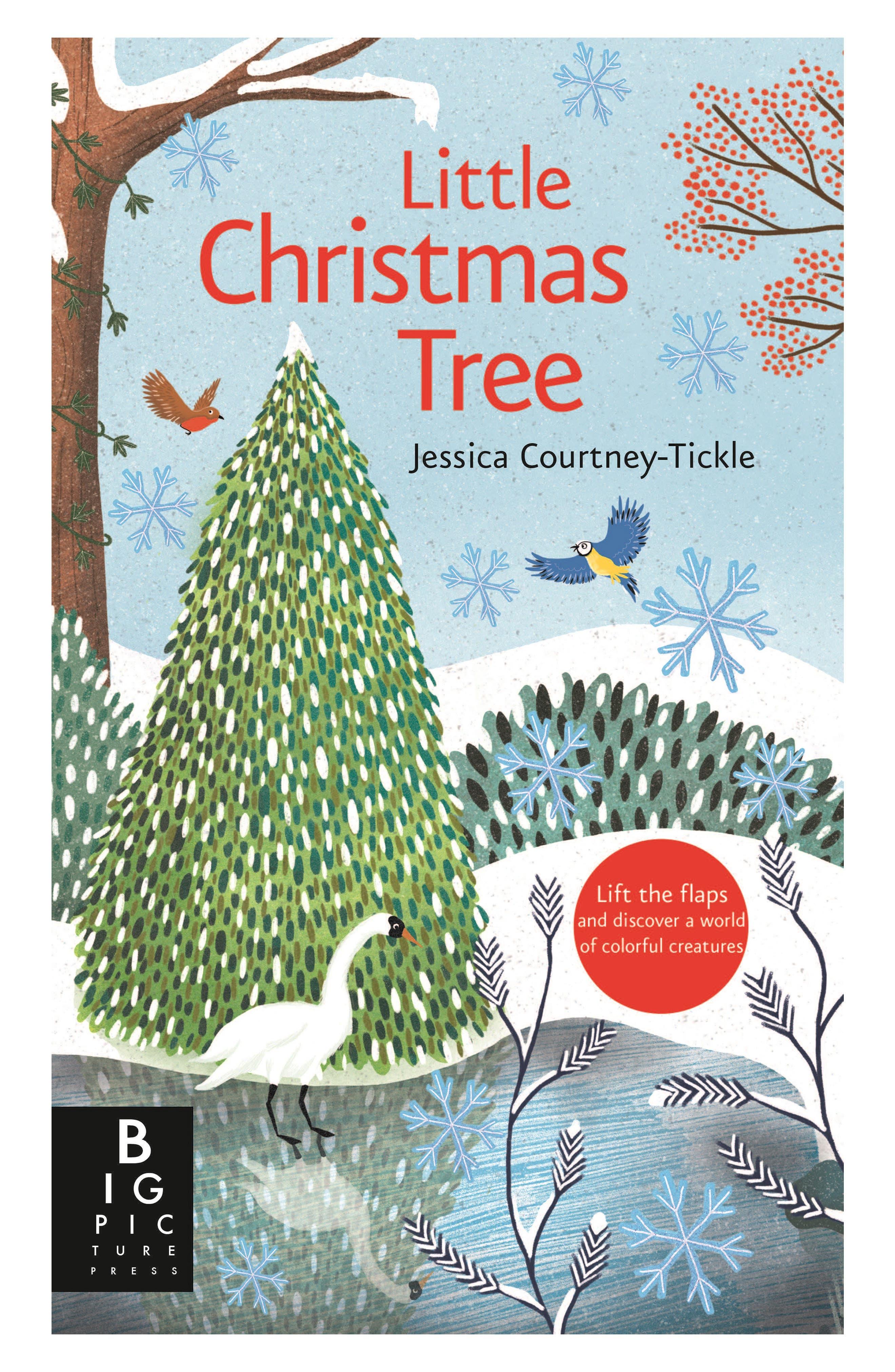 'Little Christmas Tree' Book,                         Main,                         color, PASTEL/ LIGHT BLUE