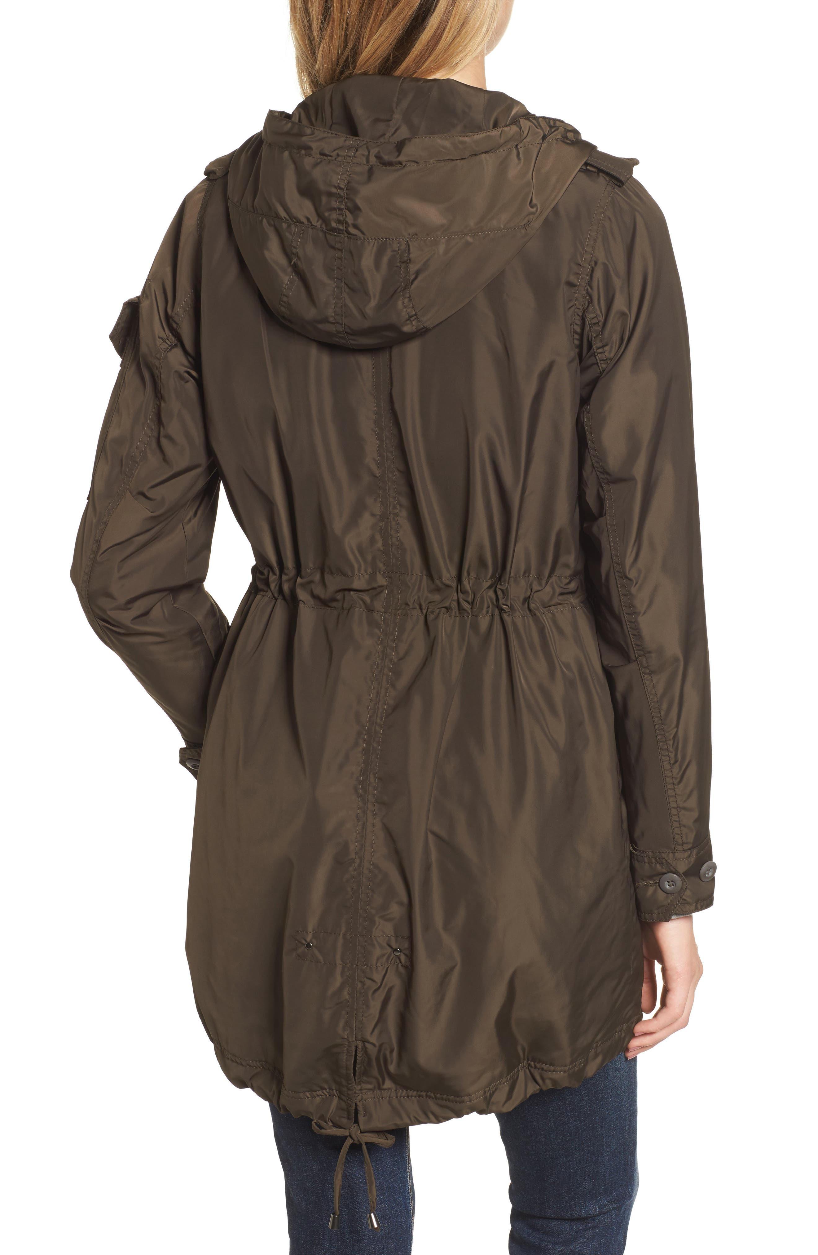 Hooded Water Repellent Anorak,                             Alternate thumbnail 4, color,