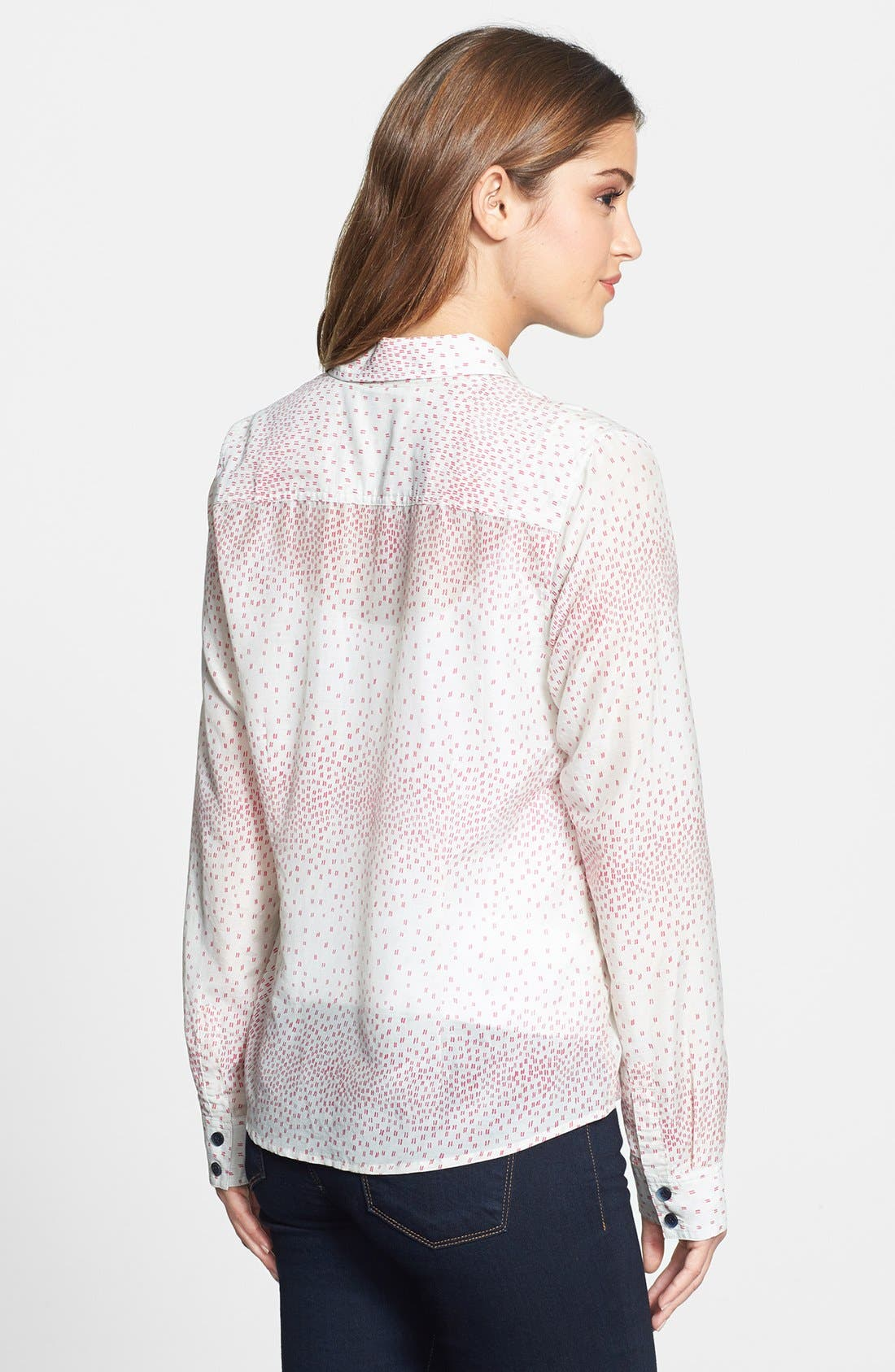 Cotton & Silk Shirt,                             Alternate thumbnail 93, color,