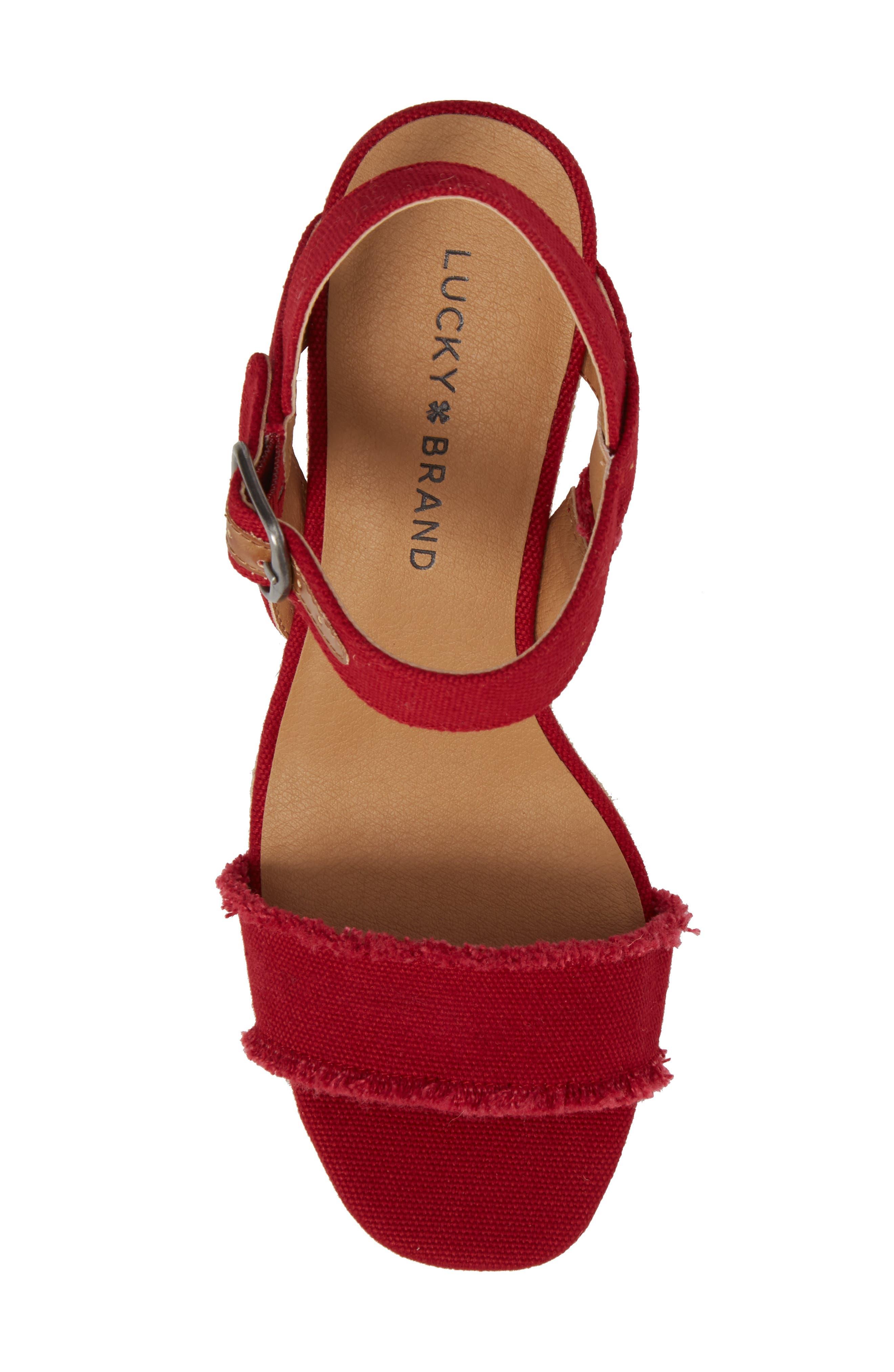 Marceline Squared Toe Wedge Sandal,                             Alternate thumbnail 35, color,