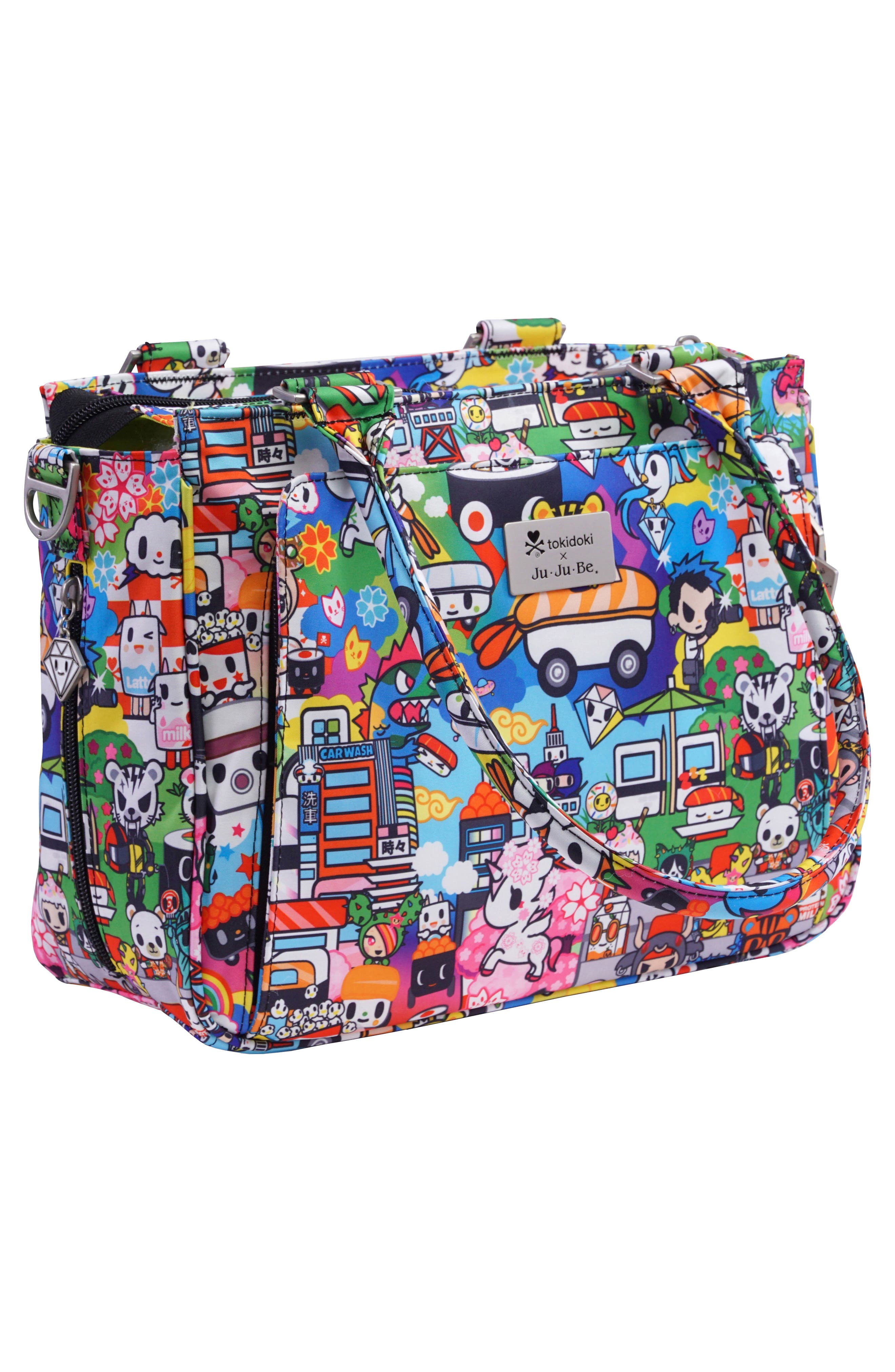 x tokidoki Be Sassy Diaper Tote Bag,                             Alternate thumbnail 5, color,                             100
