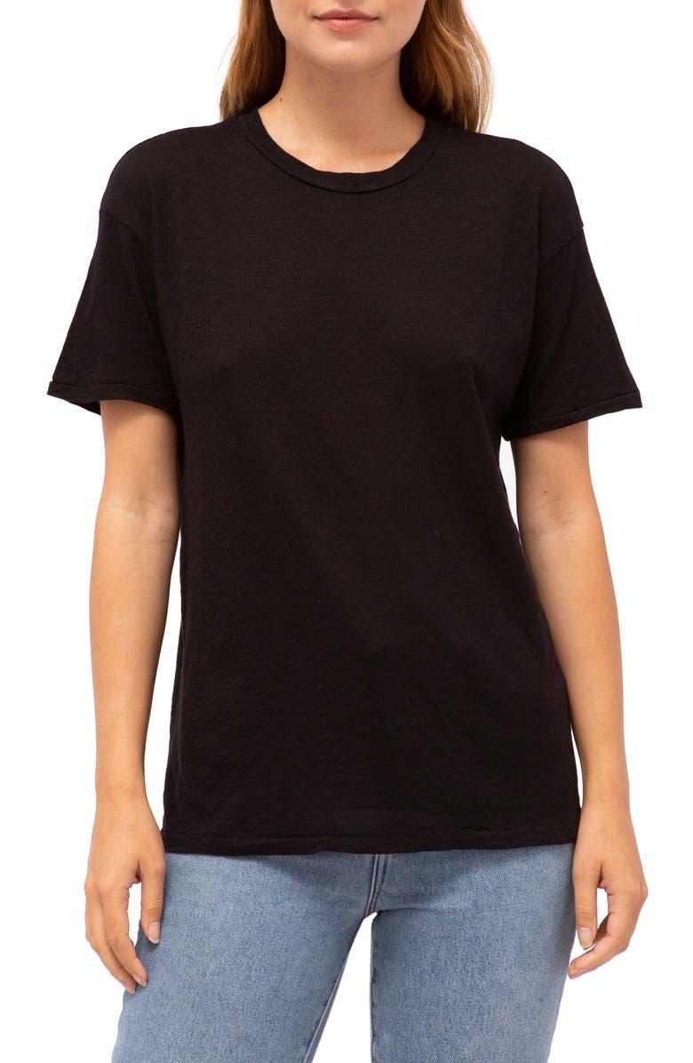 Stateside T-shirts CREWNECK SLUB TEE