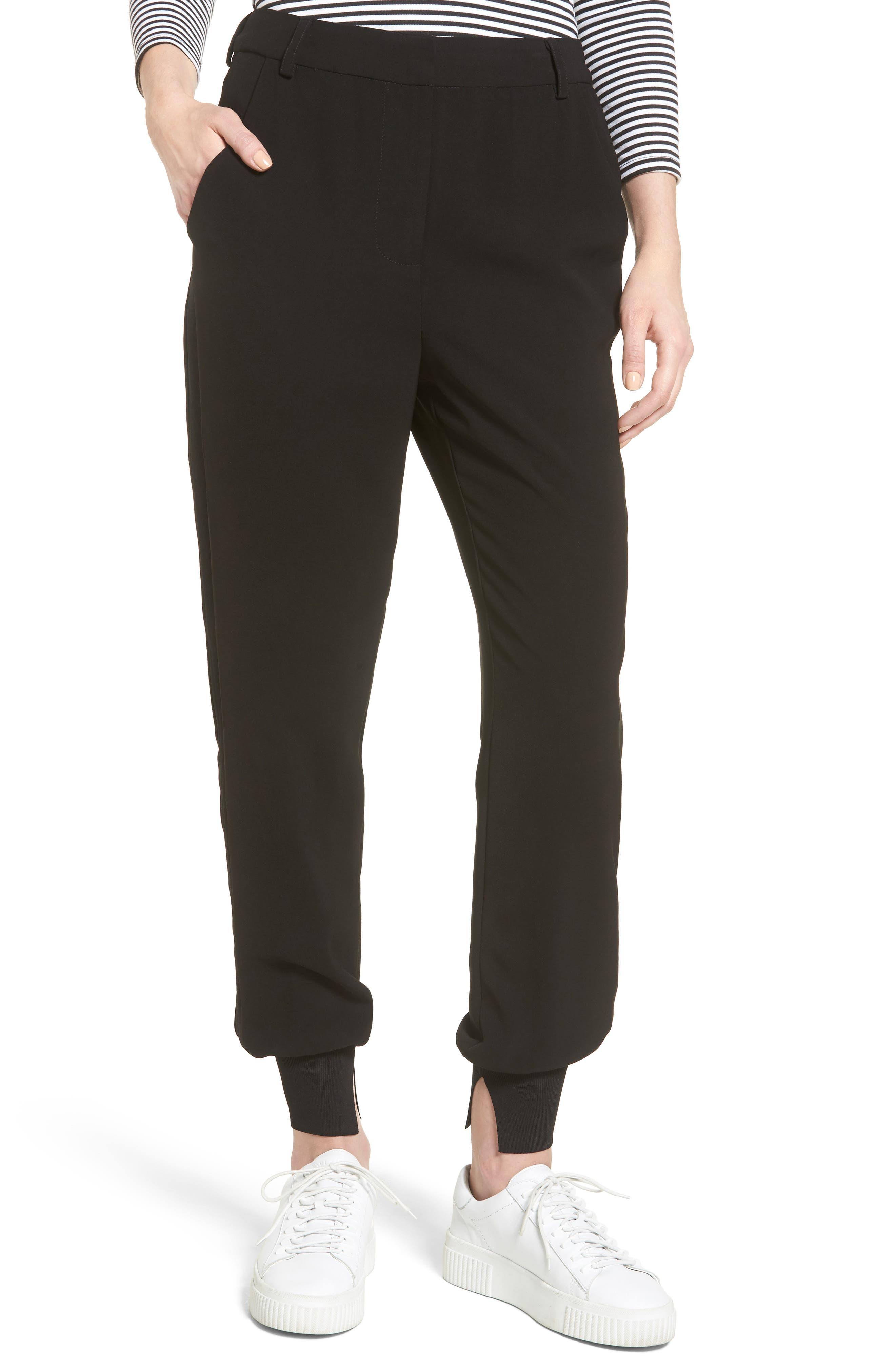 High Waist Jogger Pants, Main, color, 001