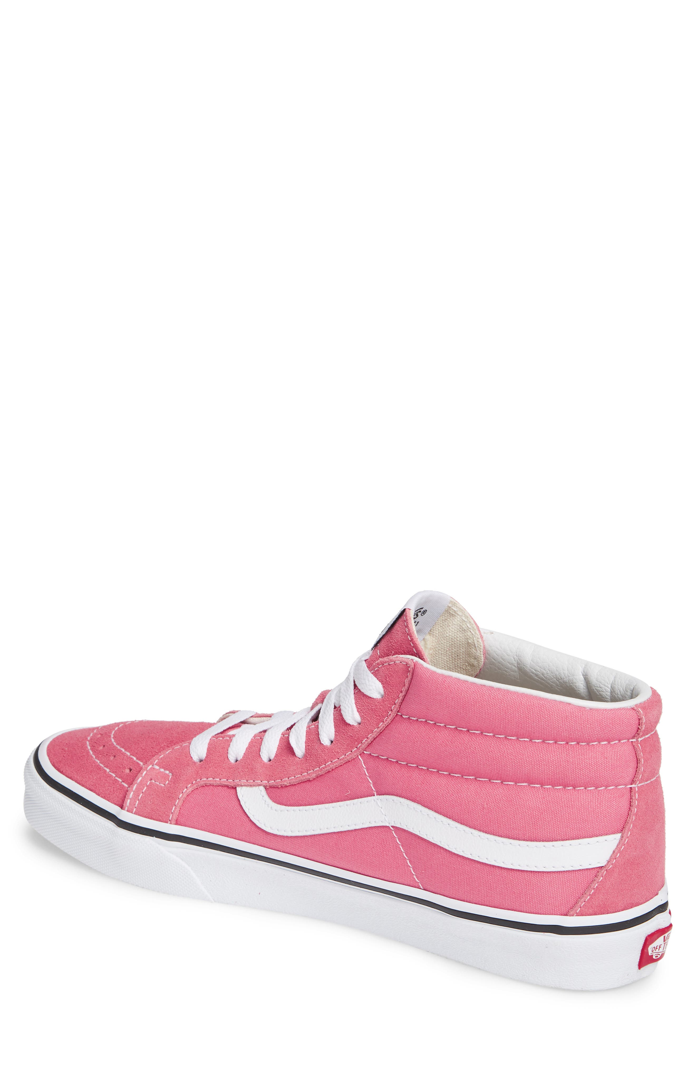 VANS,                             Sk8-Mid Reissue Sneaker,                             Alternate thumbnail 2, color,                             660
