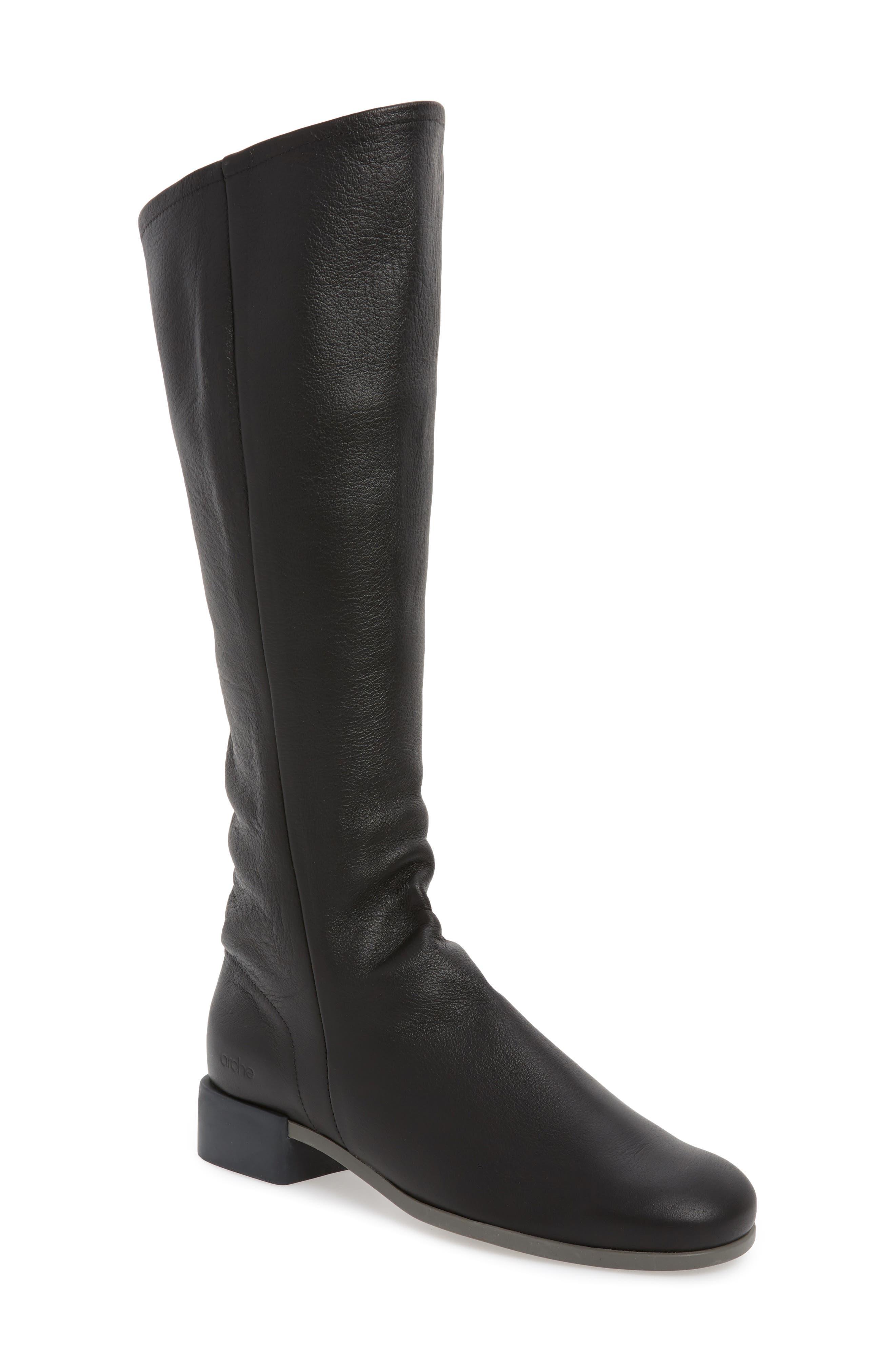 Arche Twigbo Knee High Boot, Black
