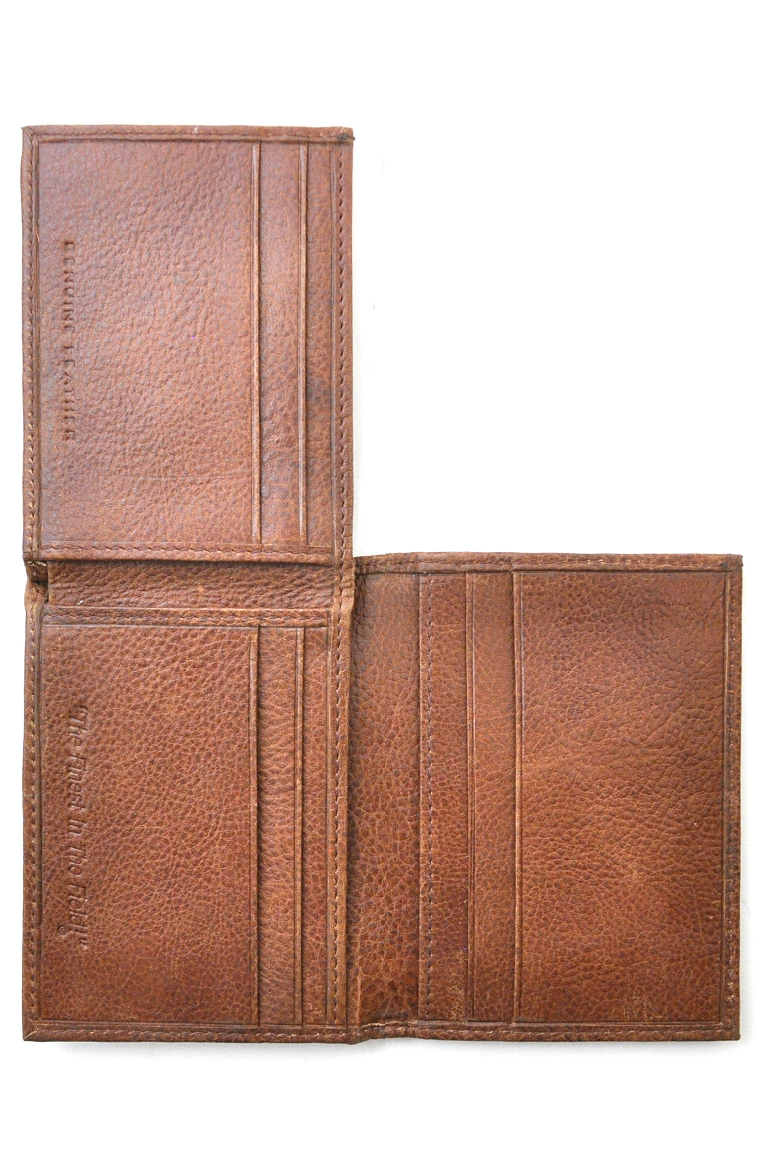 Triple Play Leather L-Fold Wallet,                             Alternate thumbnail 3, color,                             202