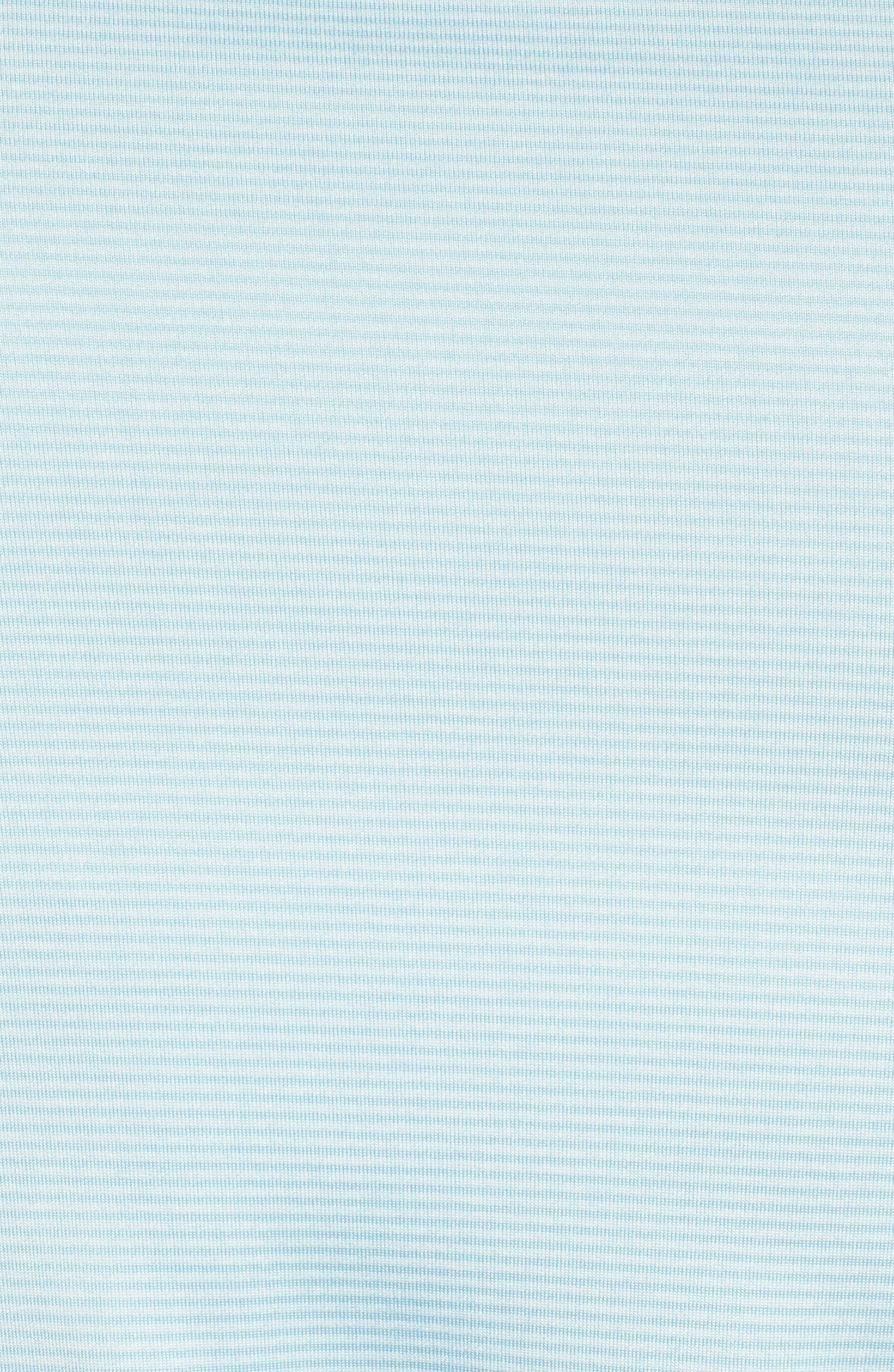 Dry Polo Shirt,                             Alternate thumbnail 5, color,                             OCEAN BLISS/ SILVER