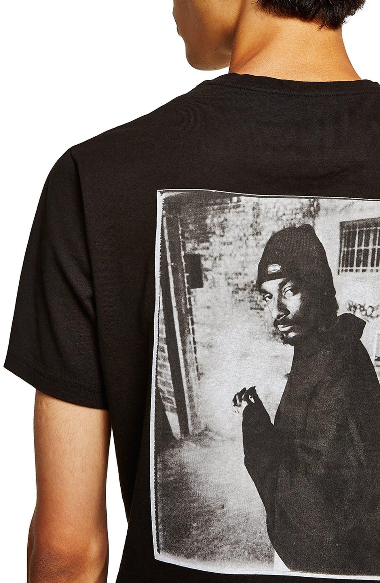 Snoop Dogg T-Shirt,                             Alternate thumbnail 3, color,                             001