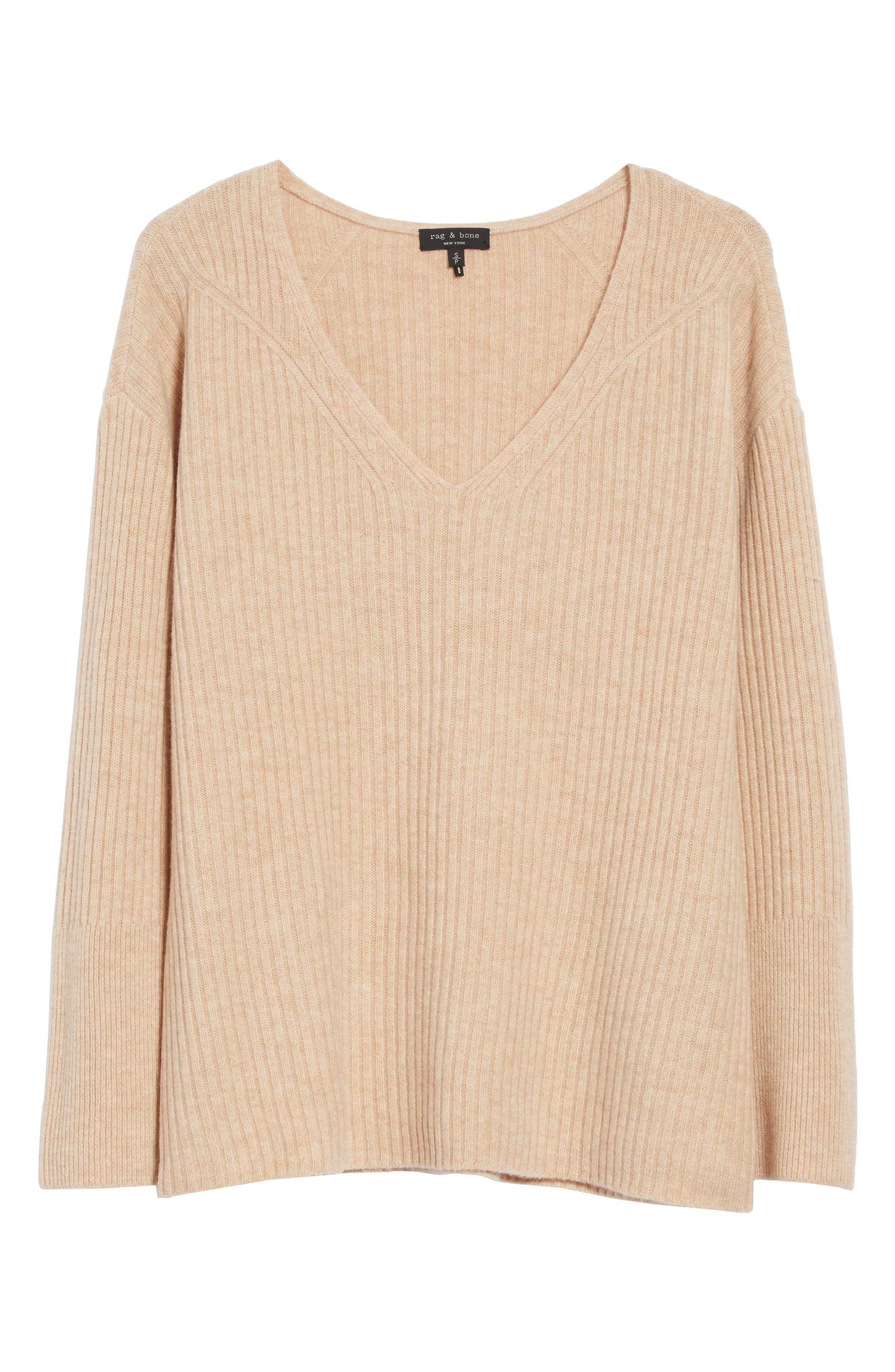 Mitchell Merino Wool Sweater,                             Alternate thumbnail 6, color,