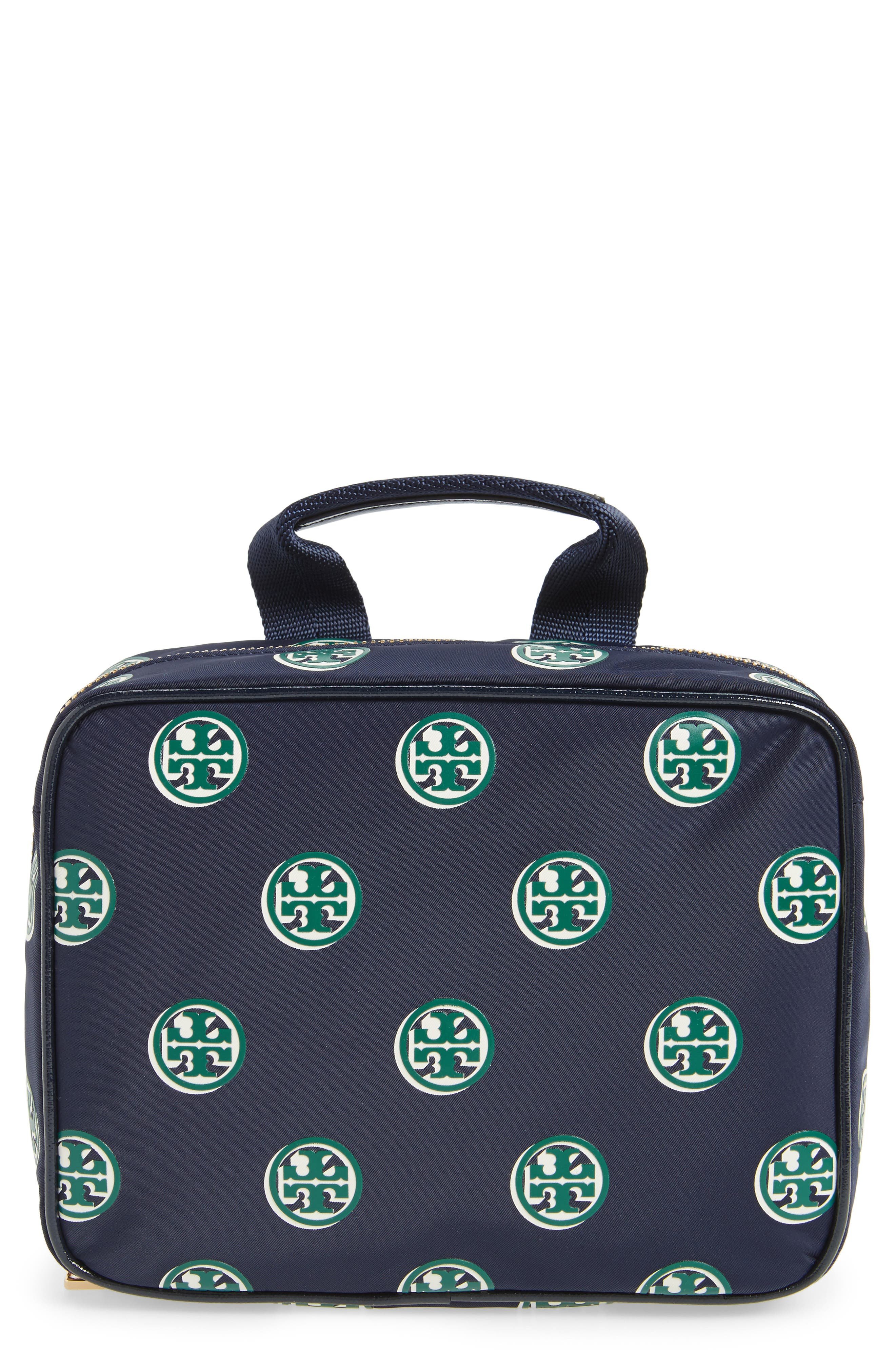 Quinn Print Hanging Cosmetic Case,                         Main,                         color, 492