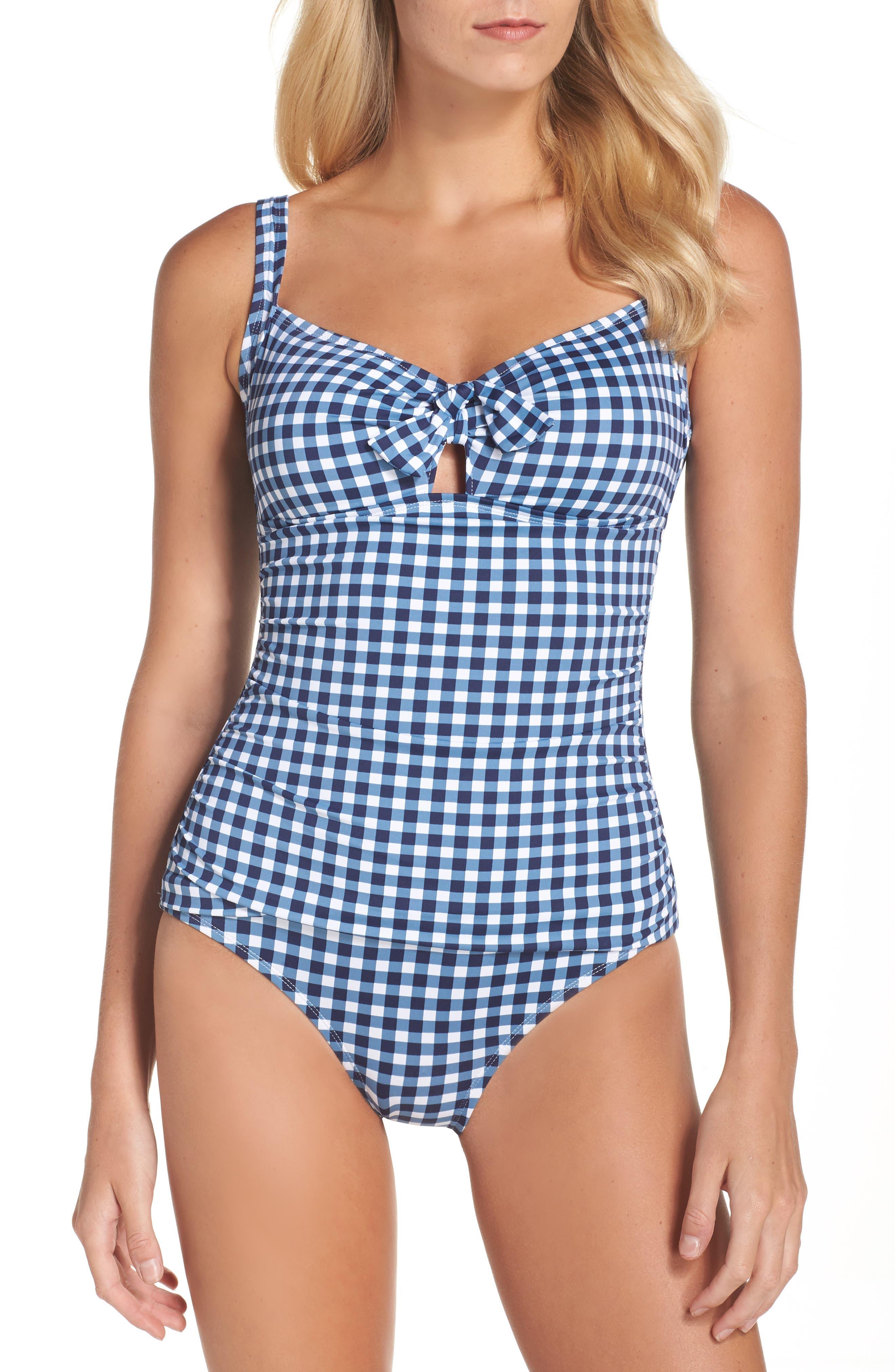 One-Piece Swimsuit,                         Main,                         color, 400