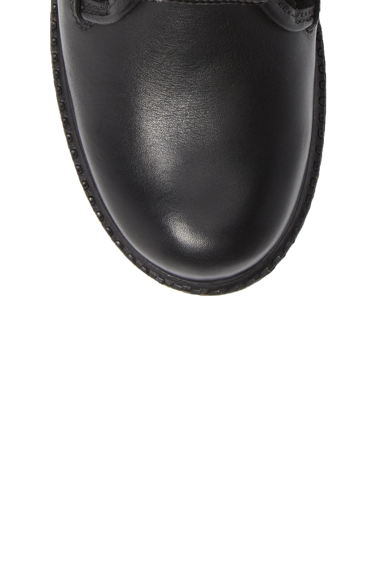 Springfield Waterproof Winter Boot,                             Alternate thumbnail 5, color,                             BLACK LEATHER