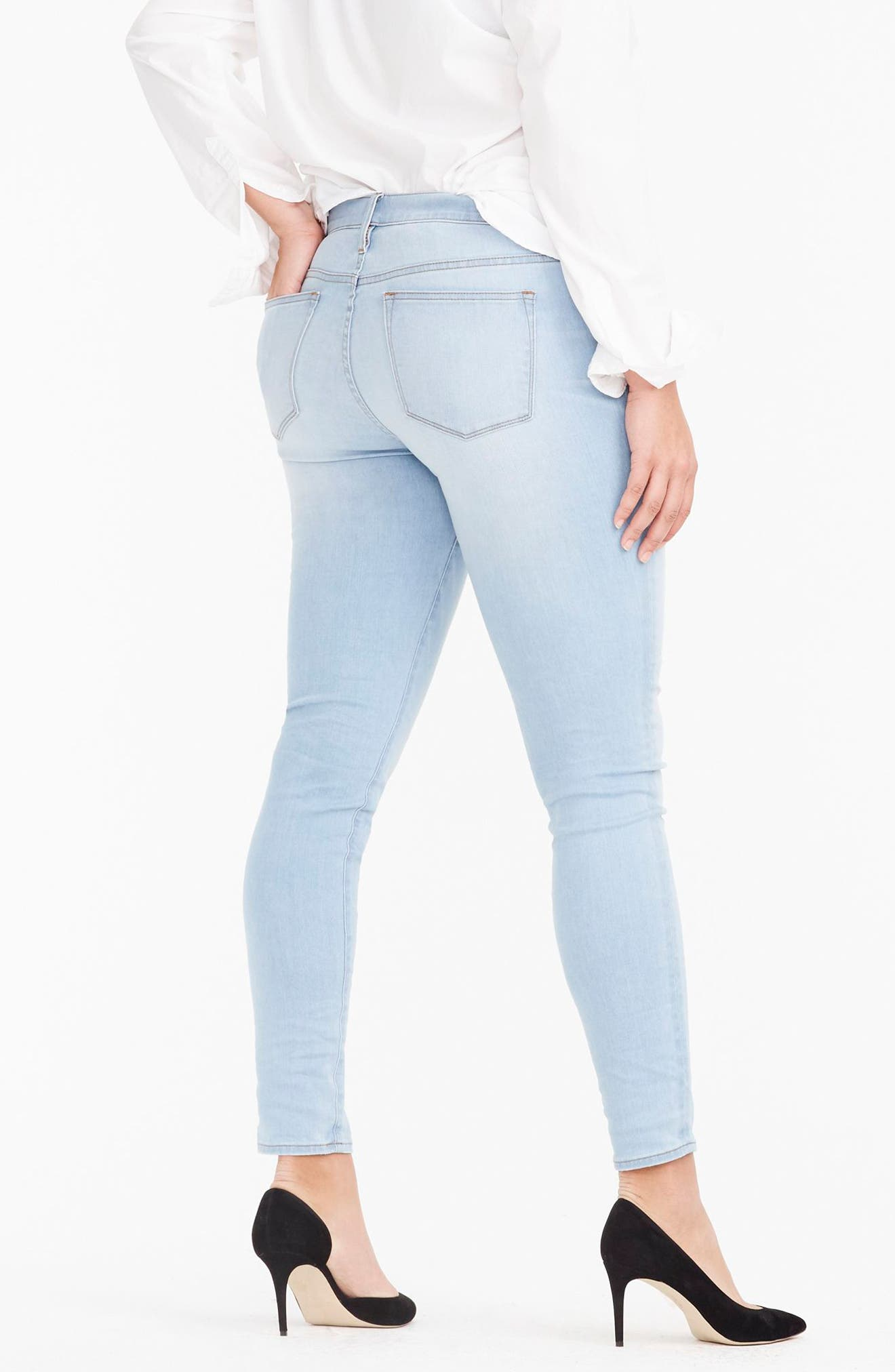 Toothpick Jeans,                             Alternate thumbnail 3, color,                             400