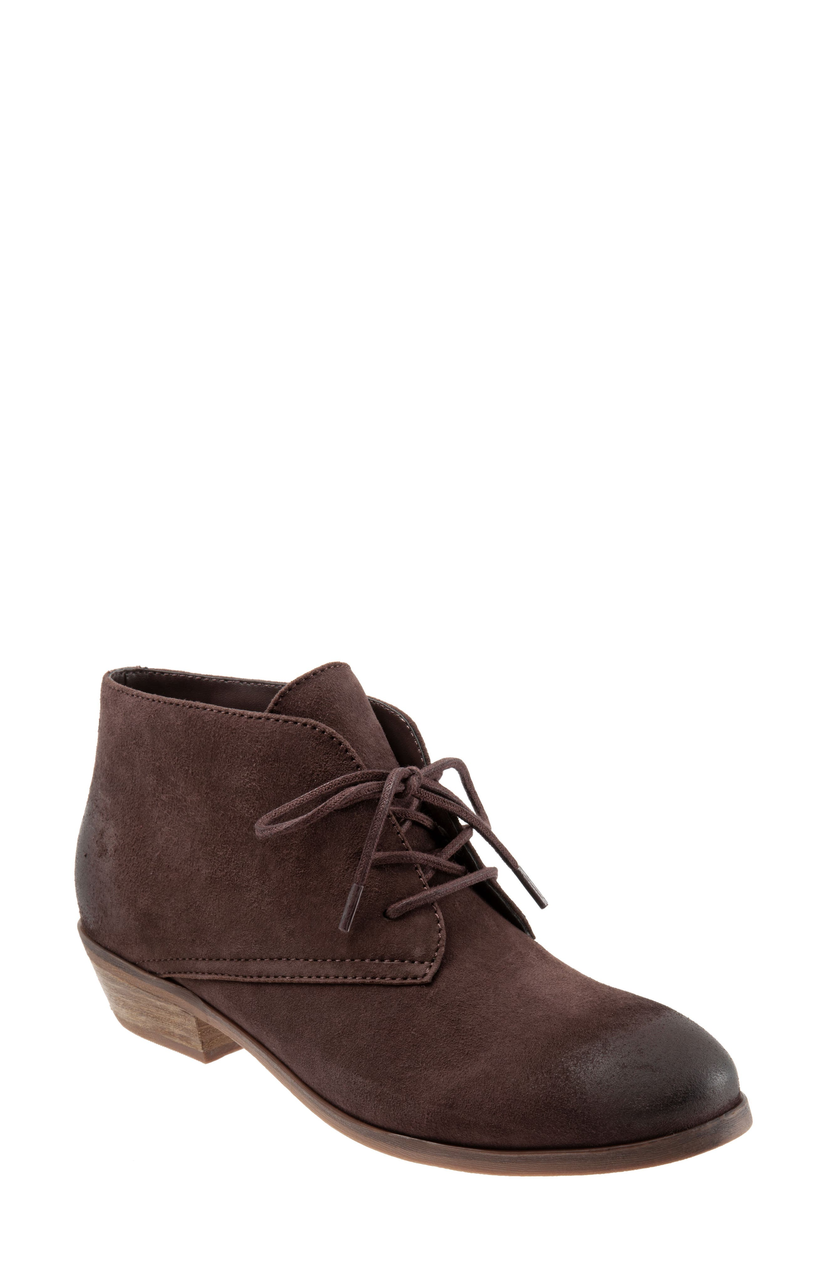 'Ramsey' Chukka Boot,                         Main,                         color, DARK BROWN LEATHER