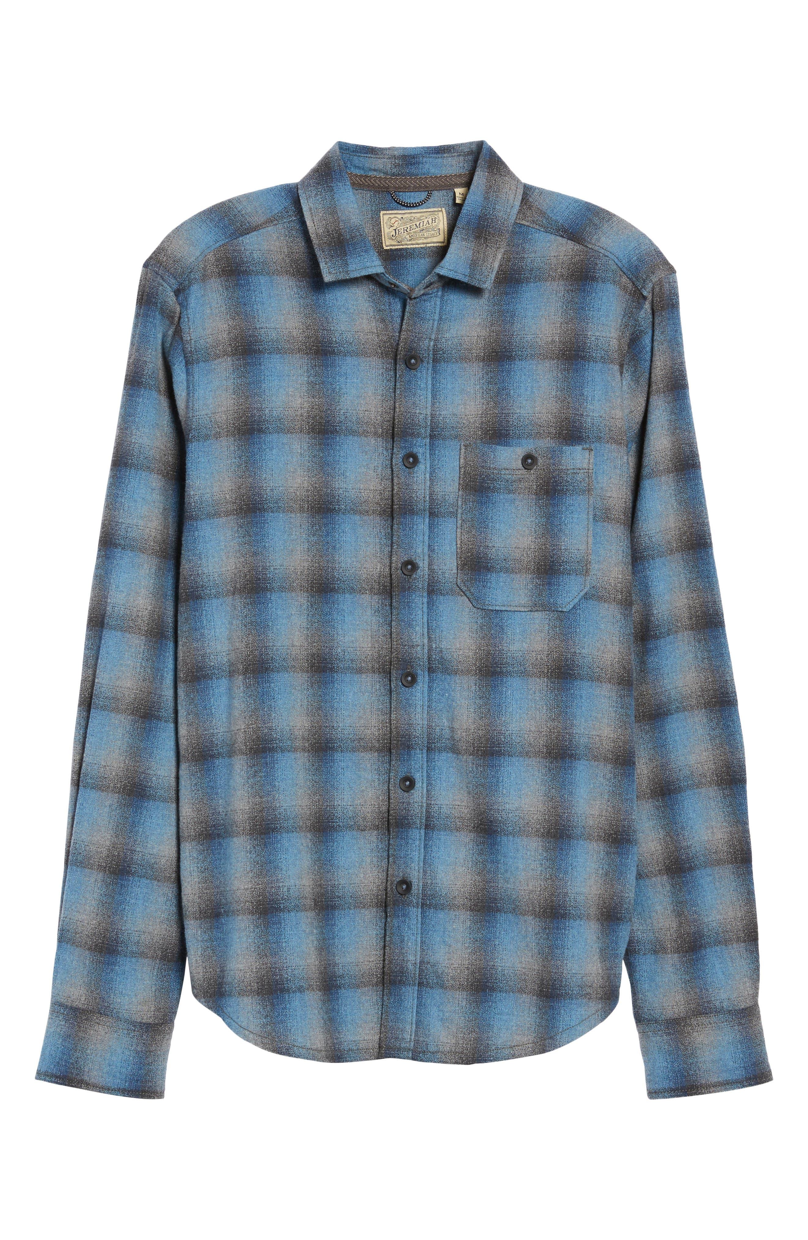 Delta Regular Fit Brushed Crepe Sport Shirt,                             Alternate thumbnail 5, color,                             486
