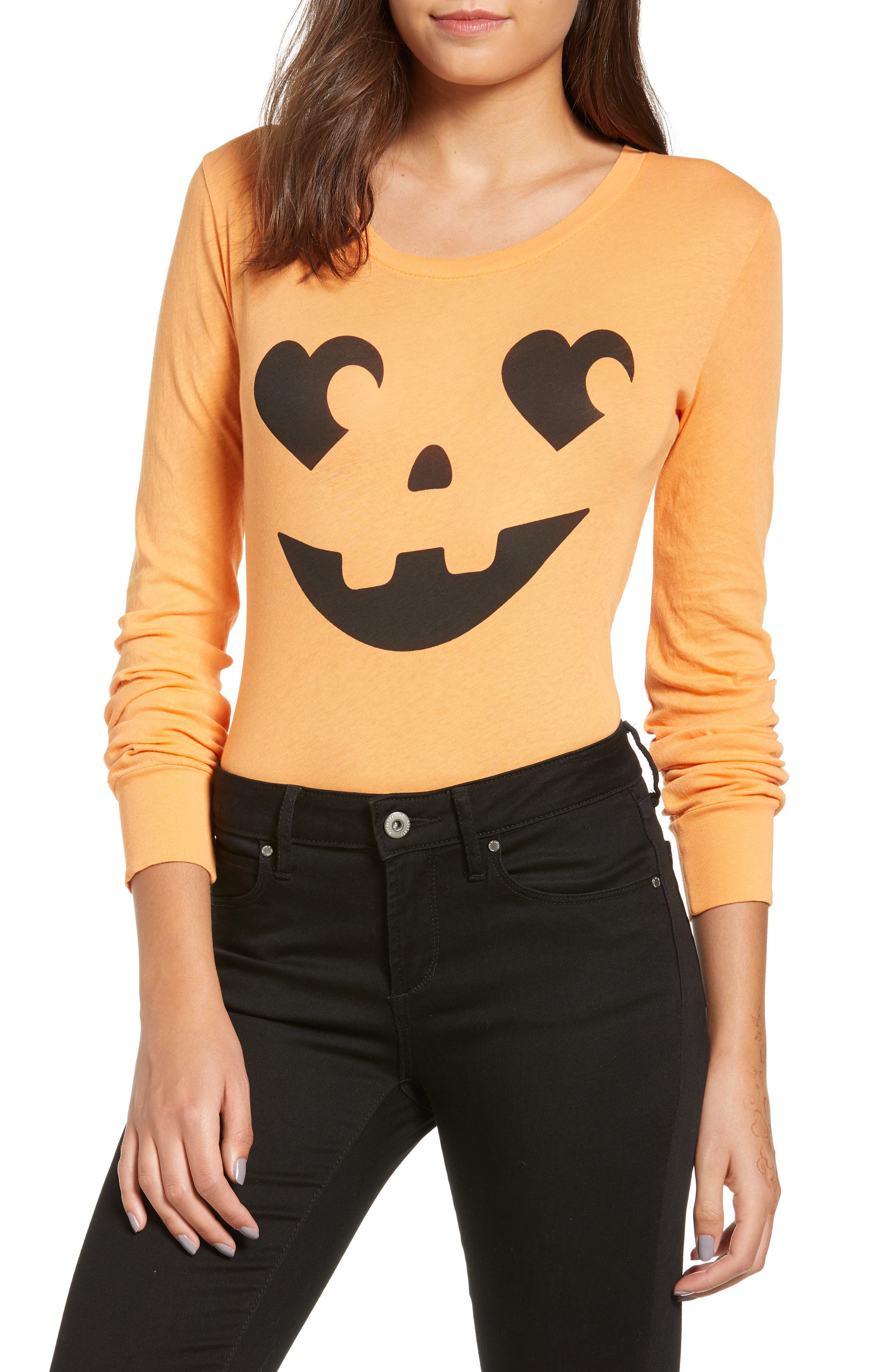 WILDFOX,                             Jack O' Heart Bodysuit,                             Main thumbnail 1, color,                             820