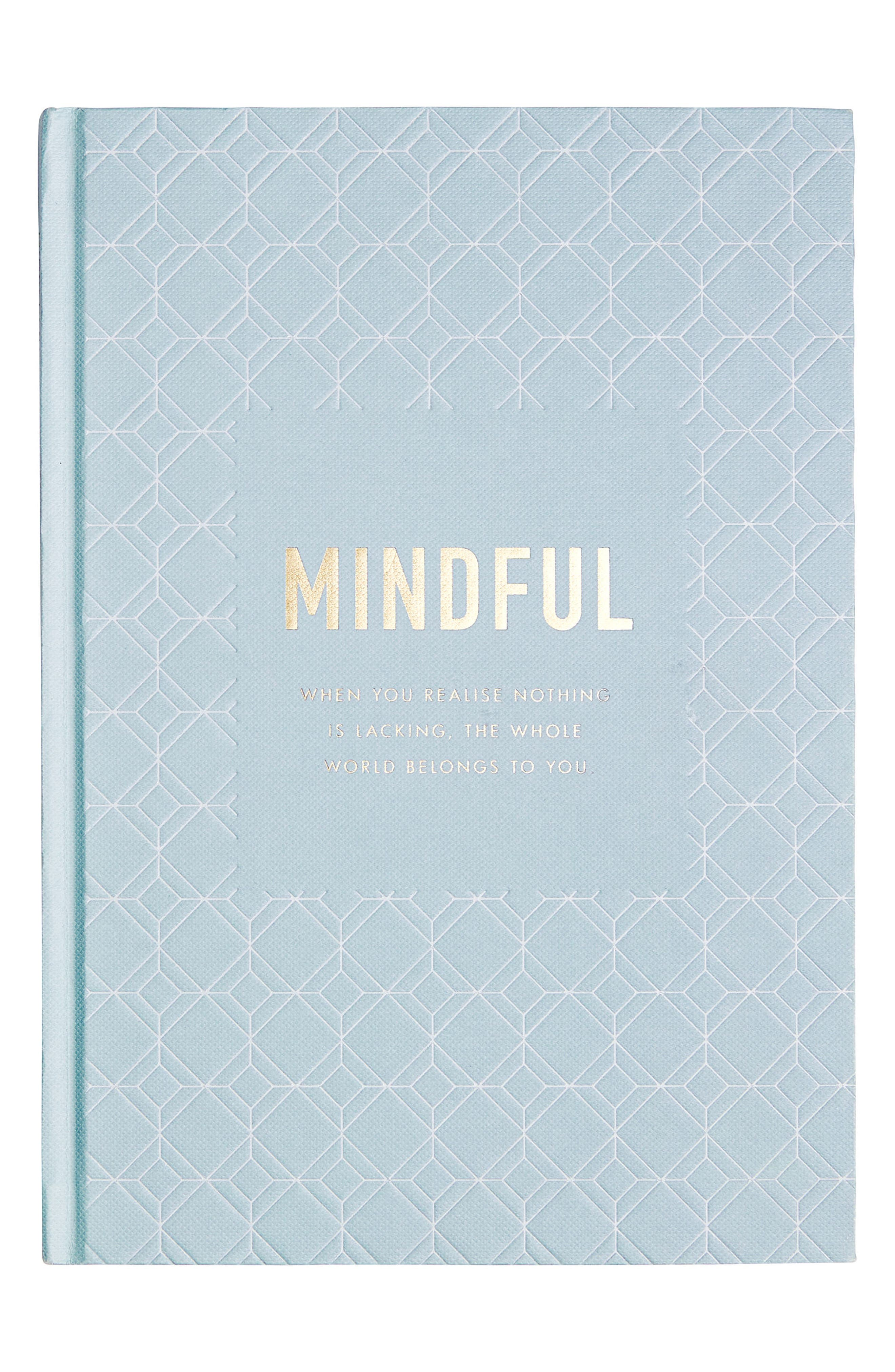 Mindfulness Journal,                             Main thumbnail 1, color,