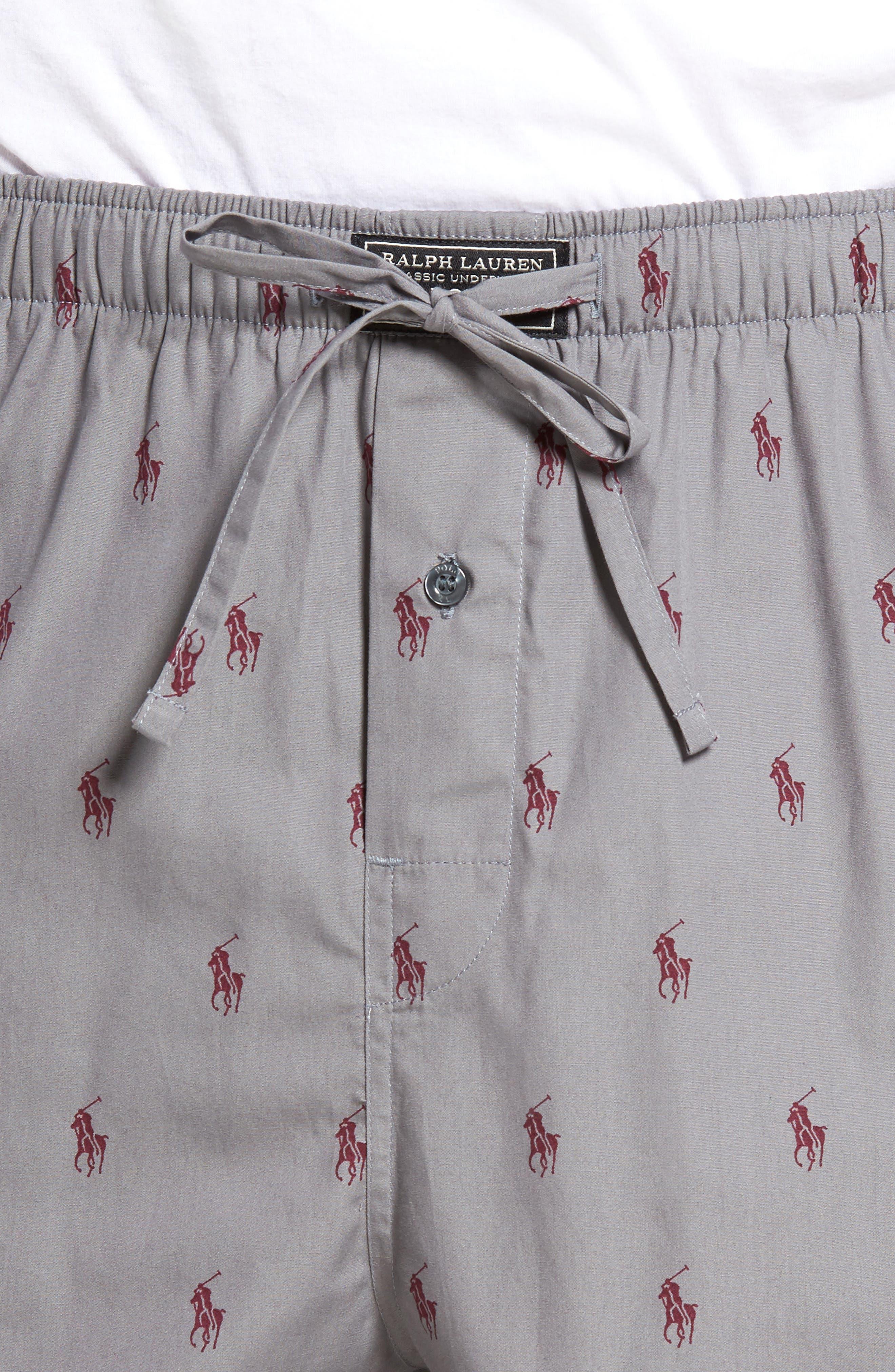 Polo Ralph Lauren Cotton Lounge Pants,                             Alternate thumbnail 16, color,
