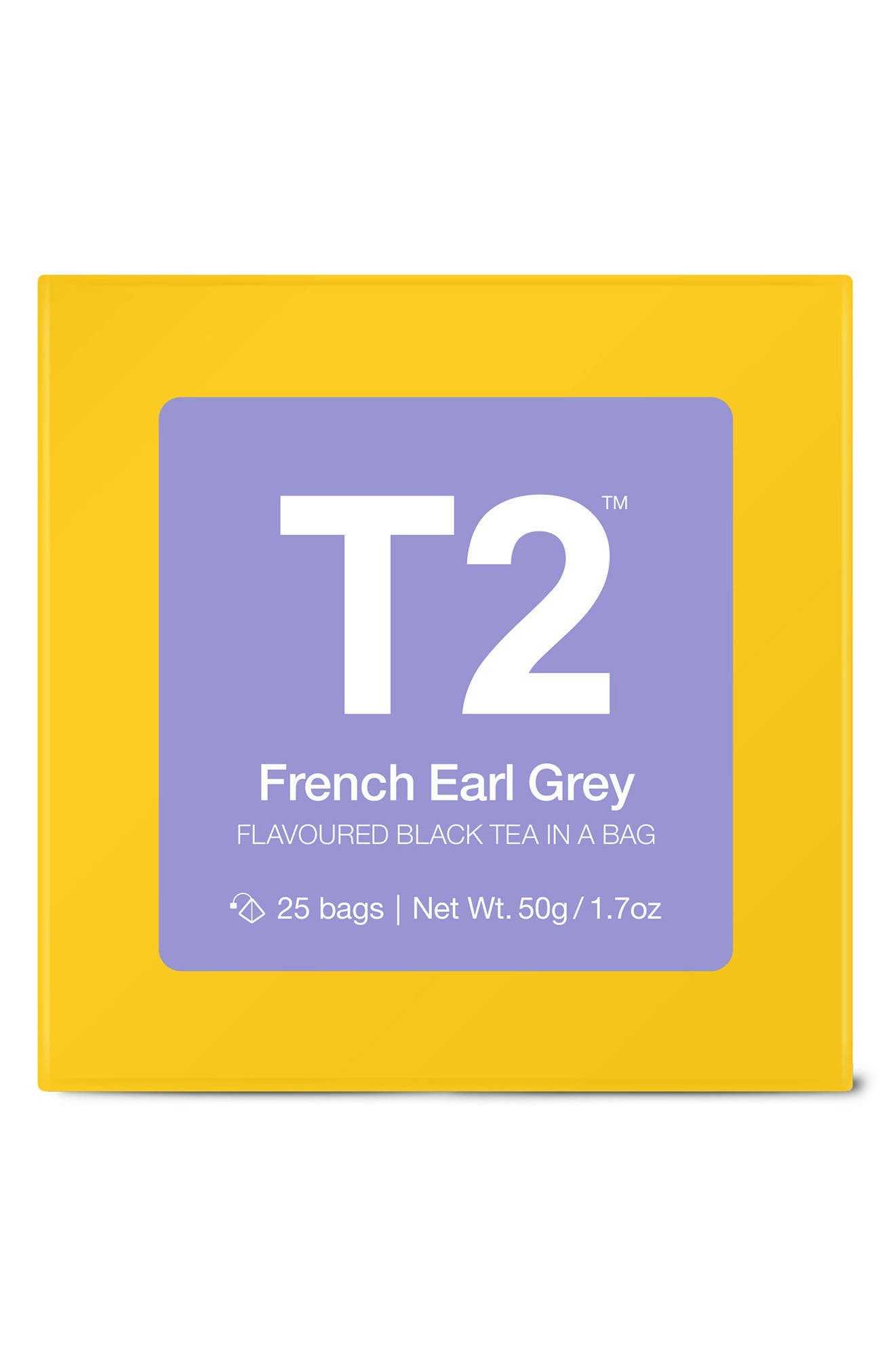 T2 French Earl Grey Tea Bags,                             Main thumbnail 1, color,                             500