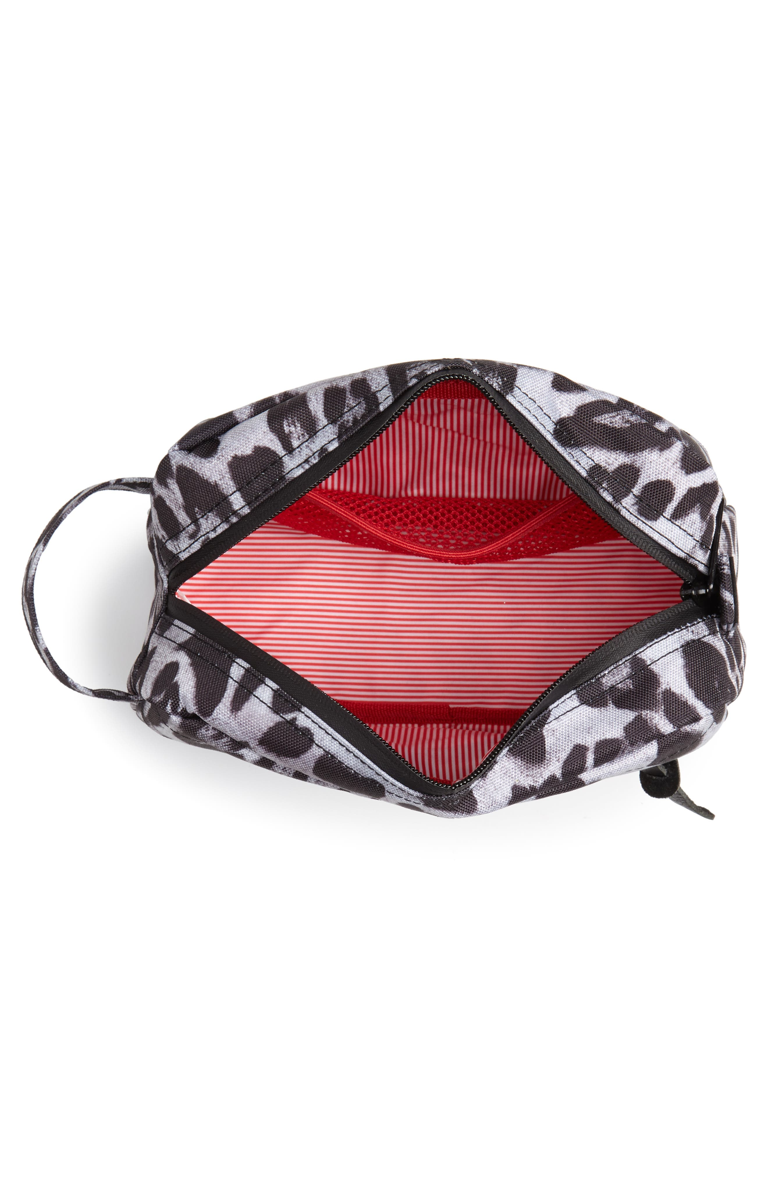 Chapter Carry-On Travel Kit,                             Alternate thumbnail 3, color,                             SNOW LEOPARD