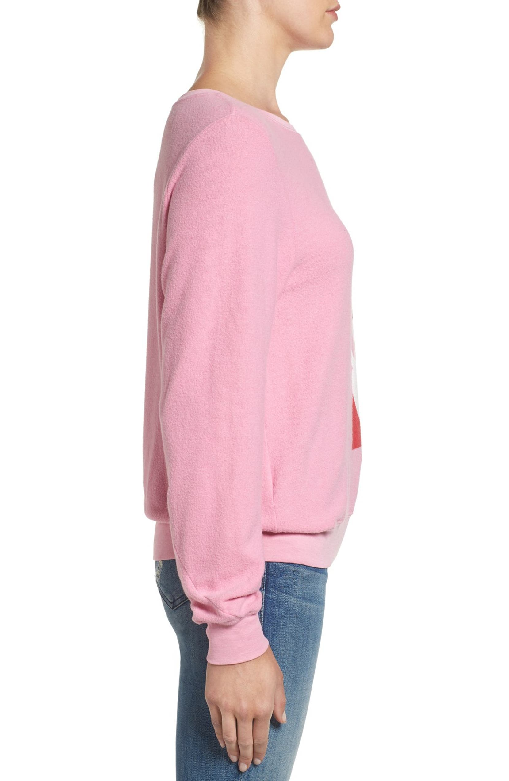 Wildfox Baggy Beach Jumper - Winking Santa Pullover  2dfced3ee