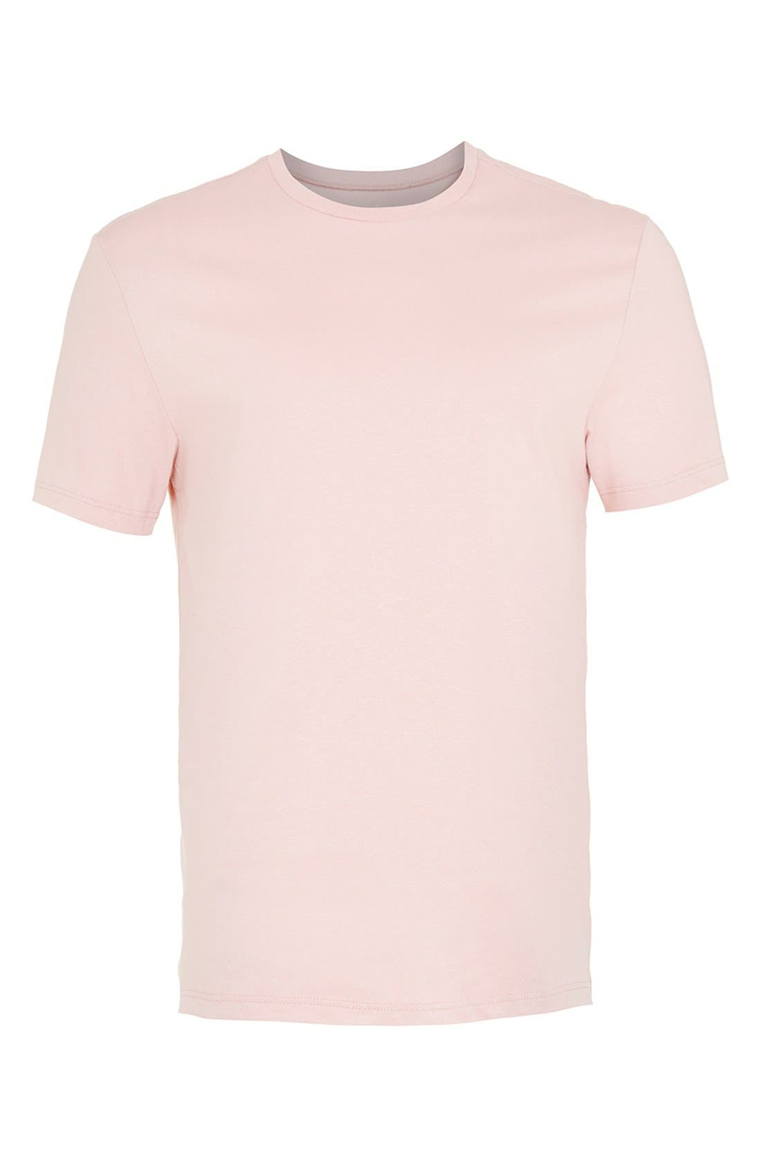Slim Fit Crewneck T-Shirt,                             Alternate thumbnail 421, color,