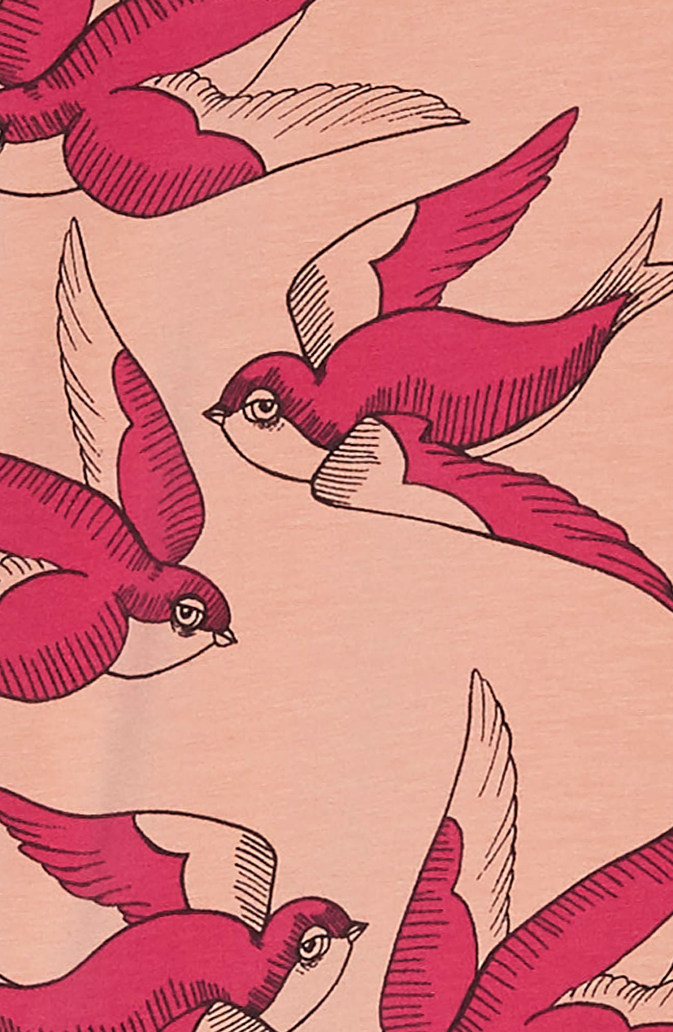 Swallows Frill Dress,                             Alternate thumbnail 3, color,                             650