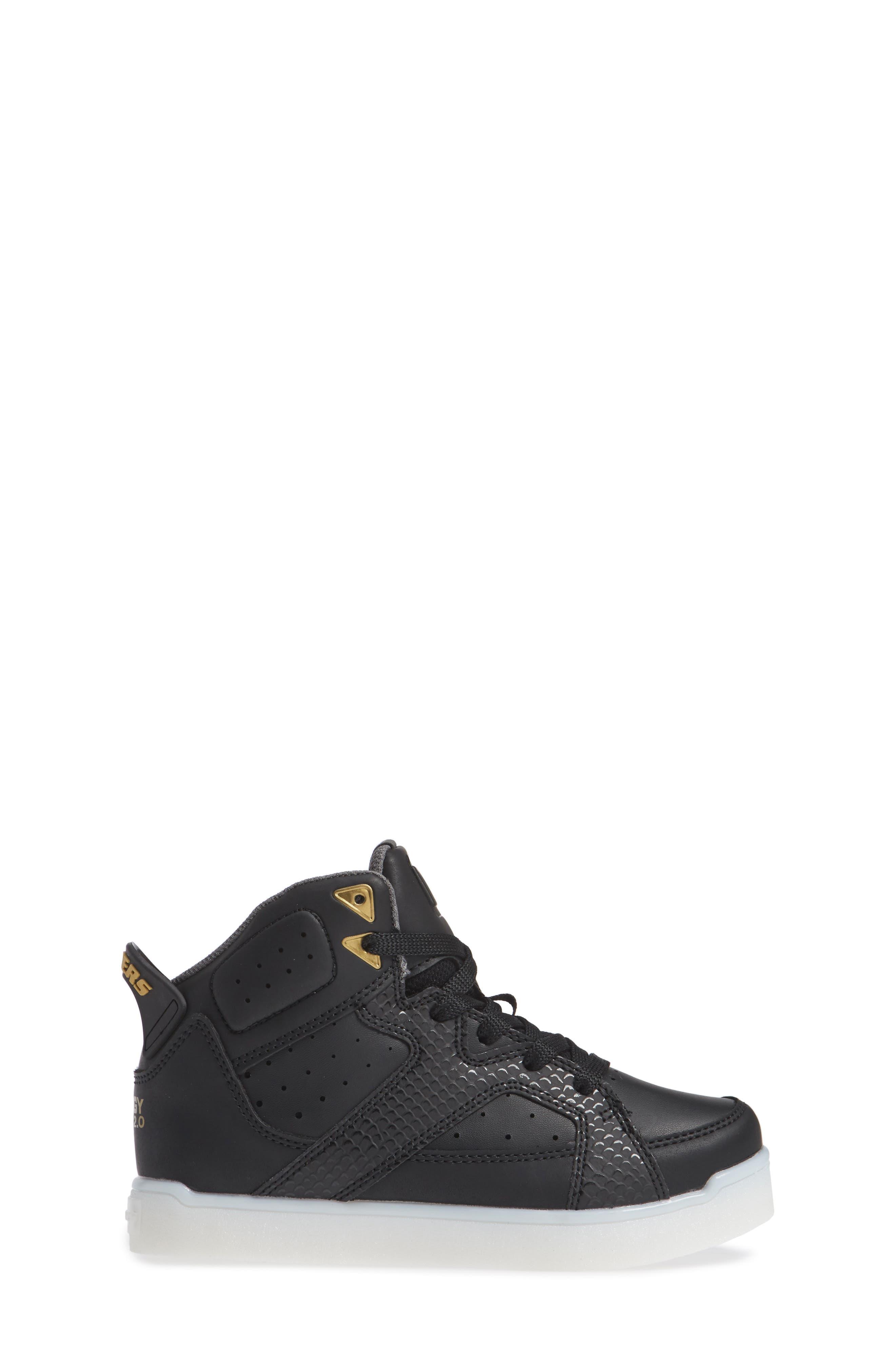 Energy Lights Pro Street Quest II Sneaker,                             Alternate thumbnail 3, color,                             017