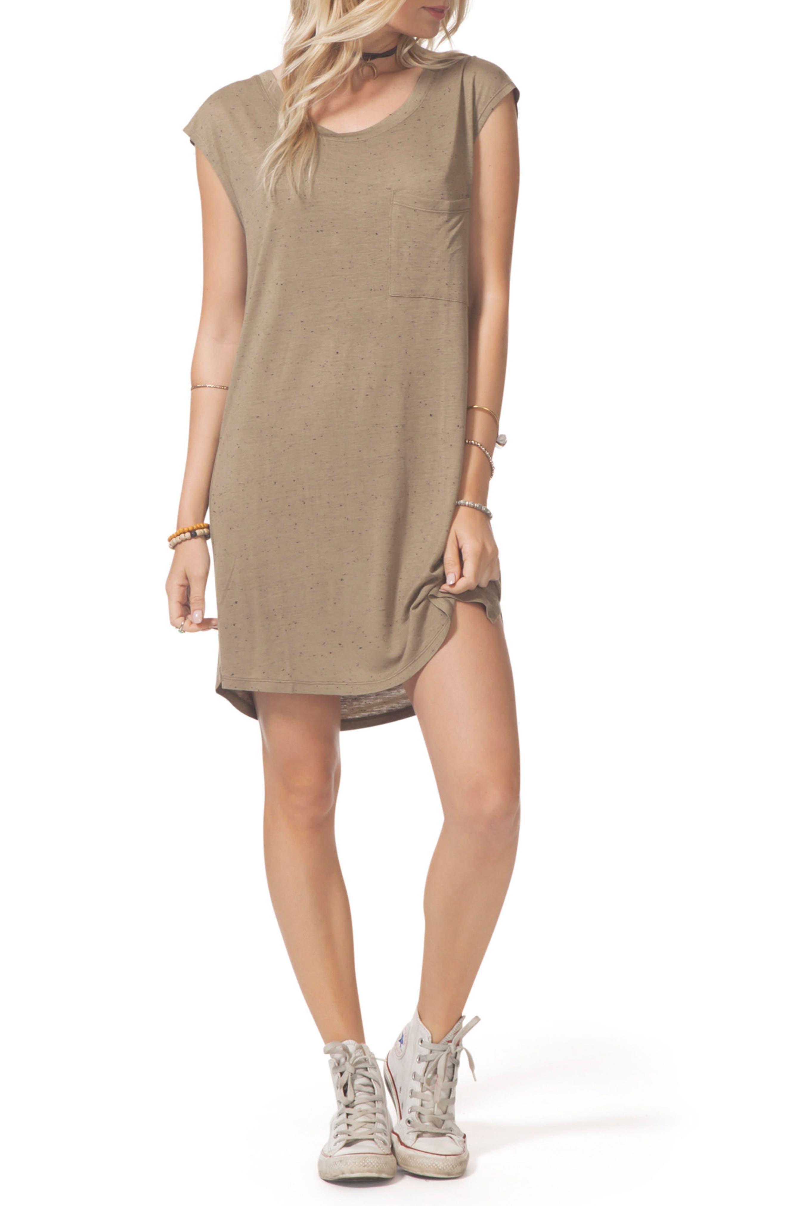 Premium Surf Knit Dress,                             Alternate thumbnail 6, color,