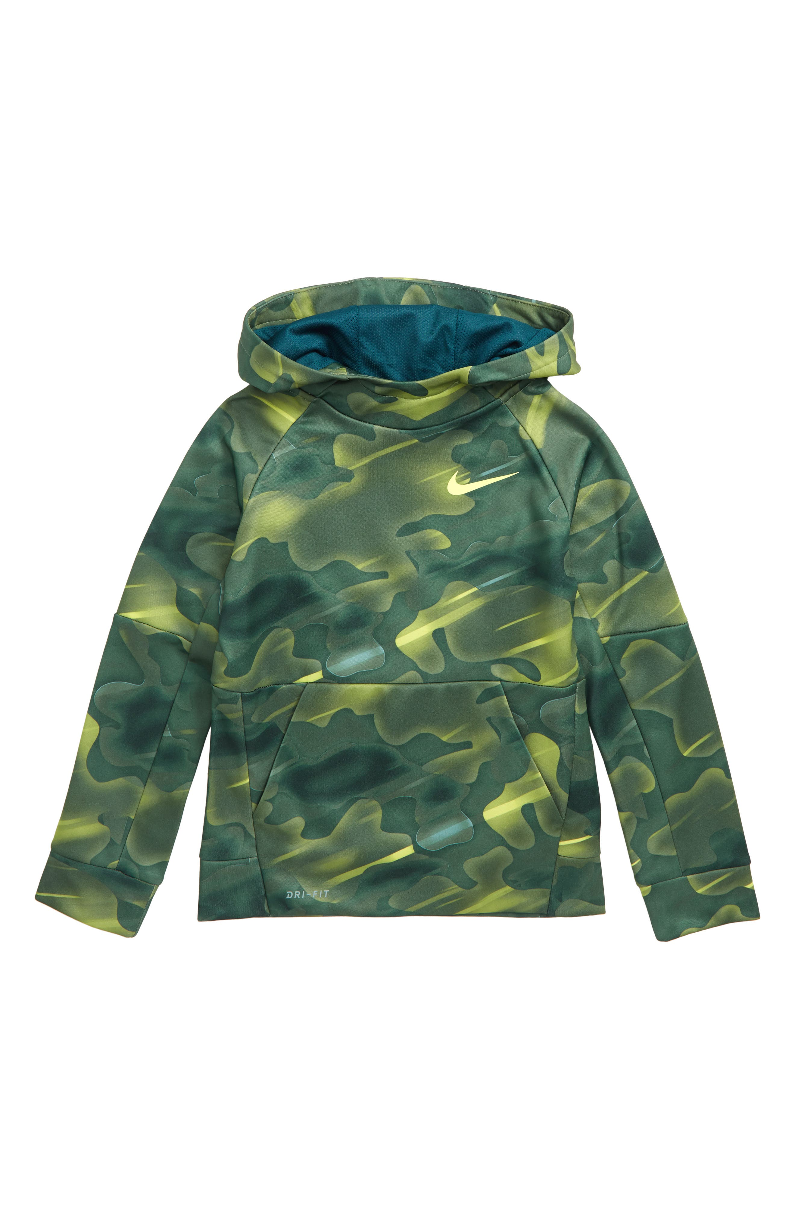 Therma Dry Hoodie,                             Main thumbnail 1, color,                             BLUE FORCE