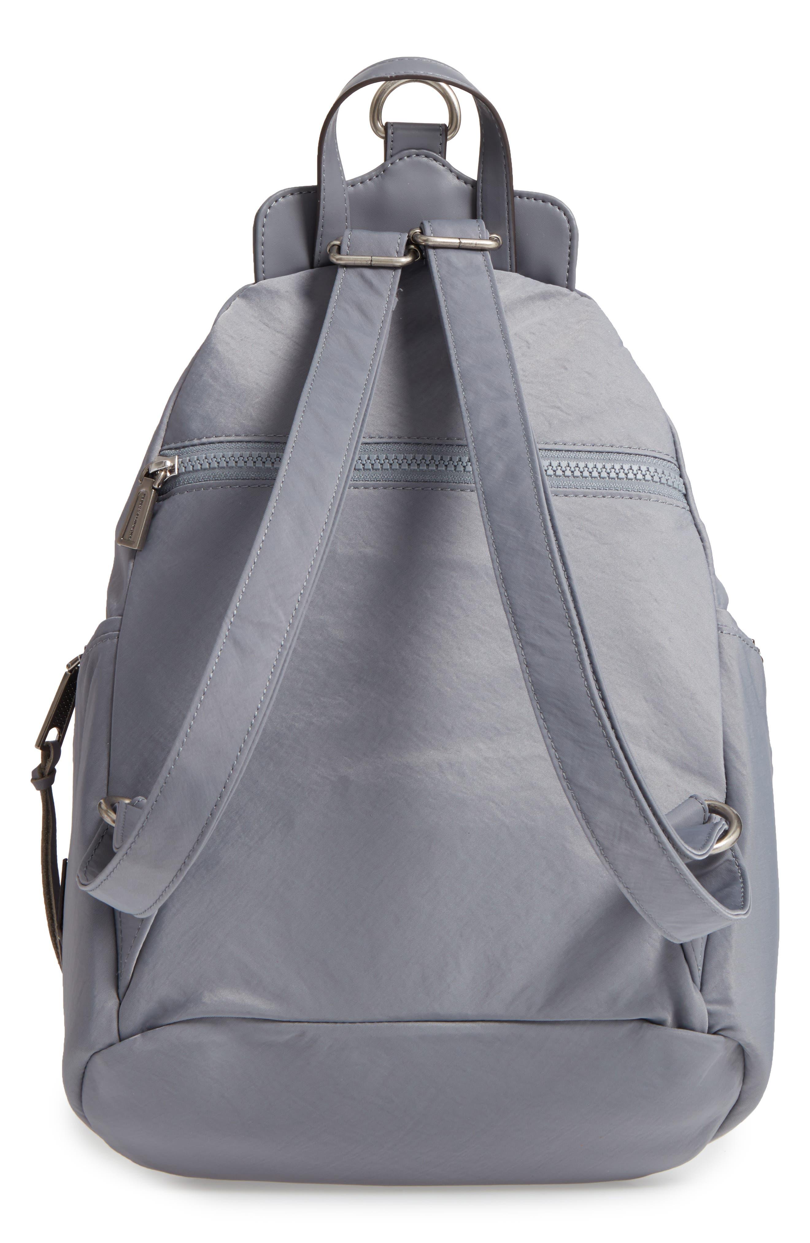 Julian Nylon Backpack,                             Alternate thumbnail 3, color,                             GREY