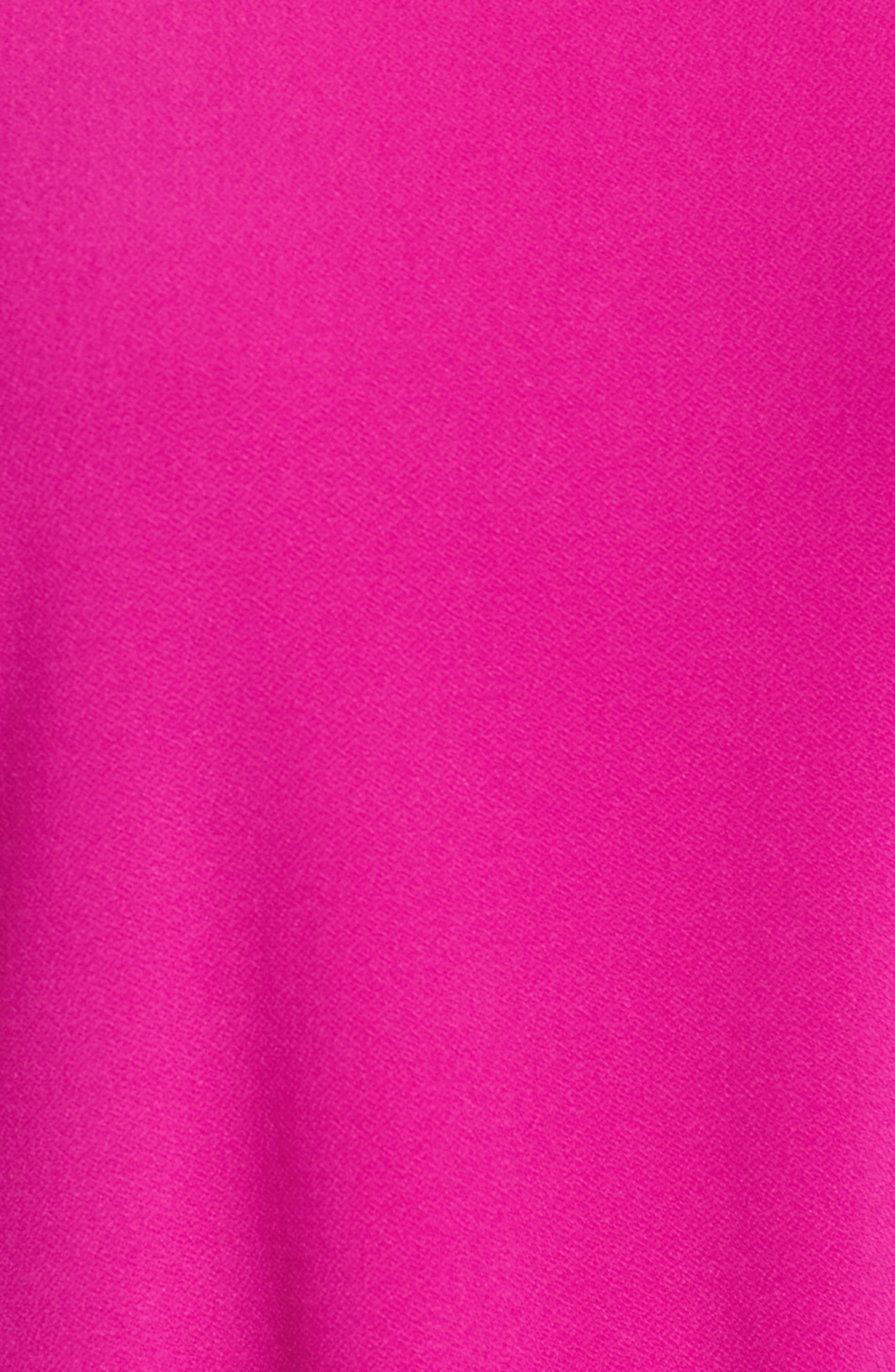 Crochet Detail Bell Sleeve Top,                             Alternate thumbnail 15, color,